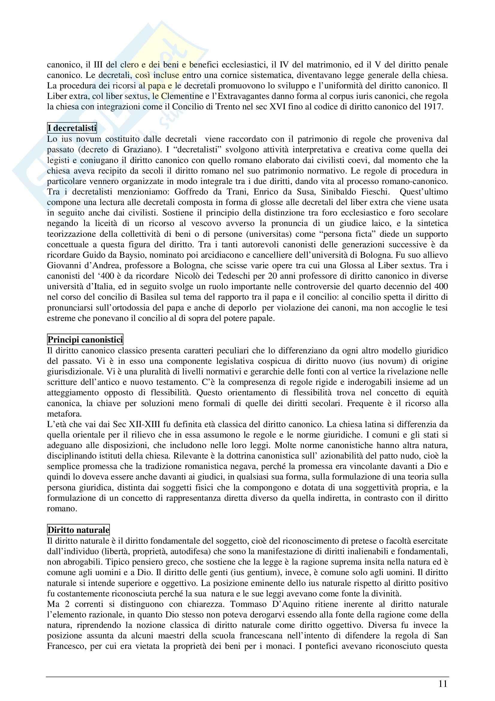 Riassunto esame Storia del diritto moderno e contemporaneo, prof. Padoa, libro consigliato La Storia del diritto in Europa, Padoa Schioppa Pag. 11