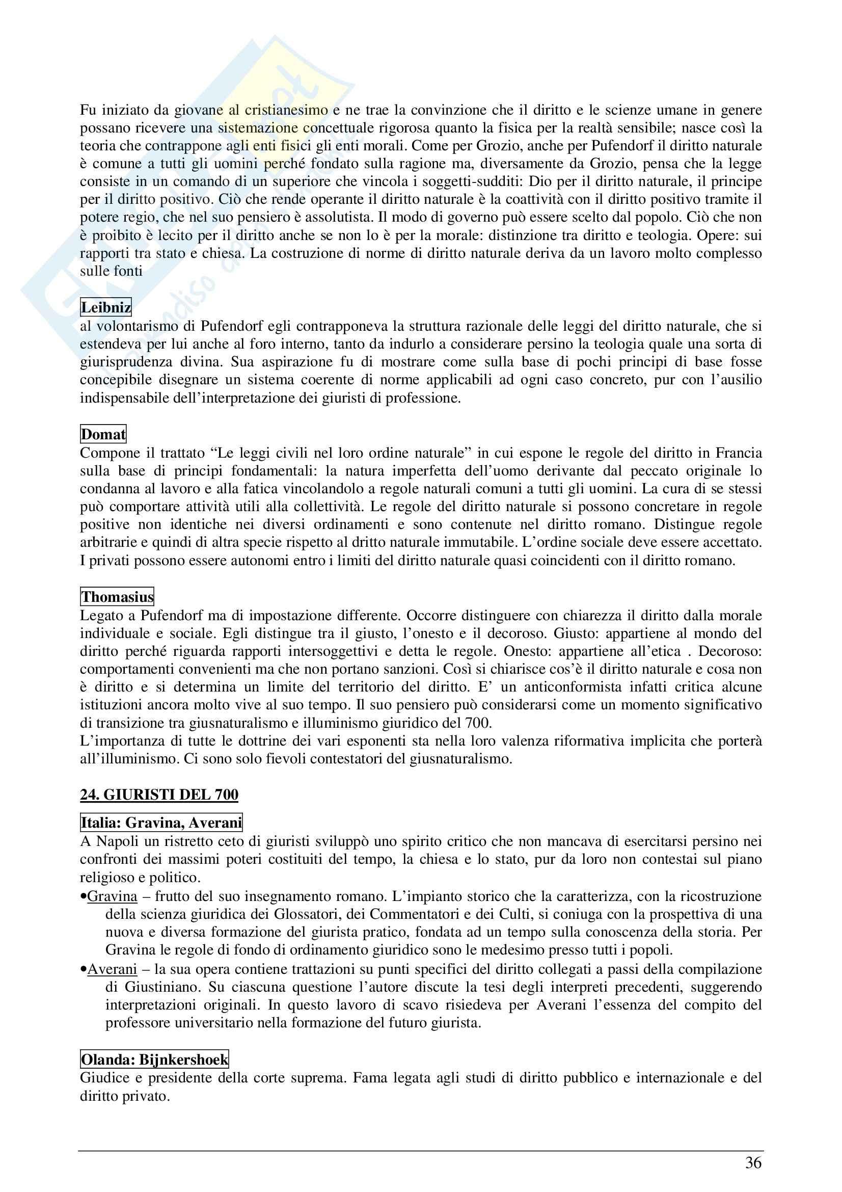 Riassunto esame Storia del diritto moderno e contemporaneo, prof. Padoa, libro consigliato La Storia del diritto in Europa, Padoa Schioppa Pag. 36