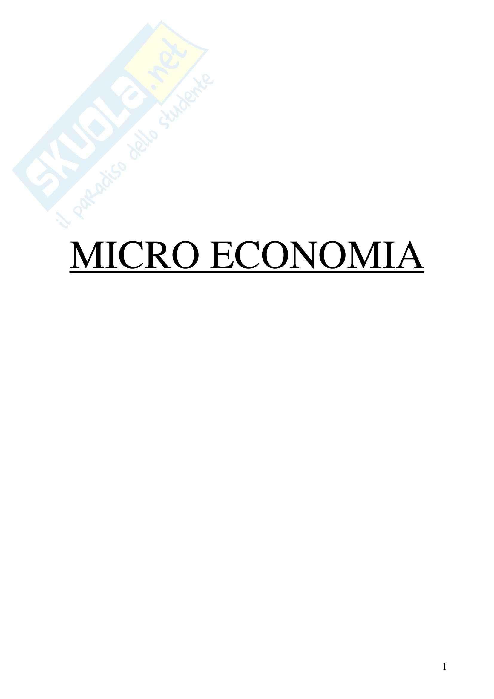 appunto G. Colacchio Economia politica