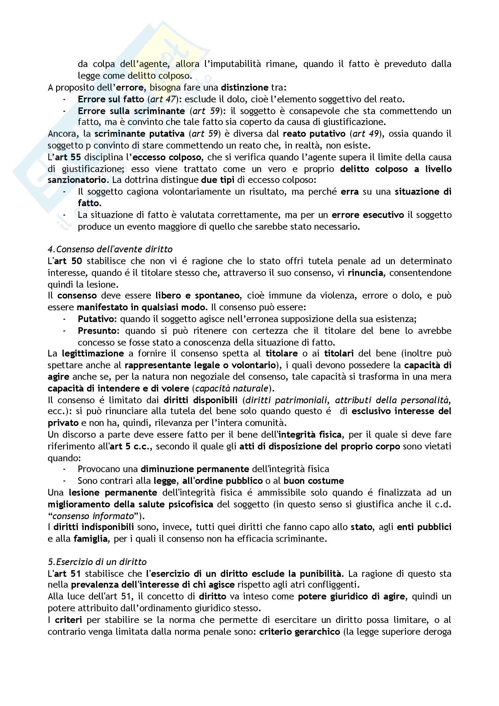 Riassunto per l'esame di Diritto penale, libro consigliato Diritto penale generale, Fiandaca, Musco Pag. 46