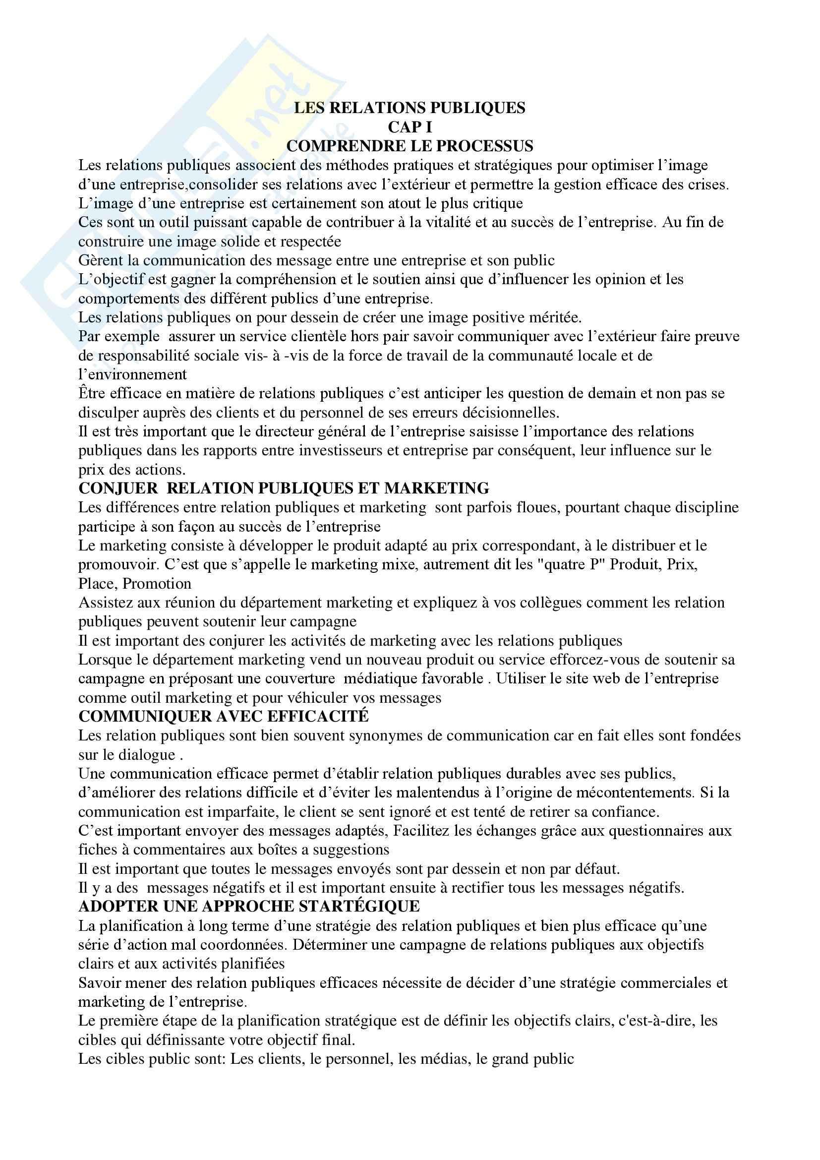 appunto P. Scienze letterarie Francese