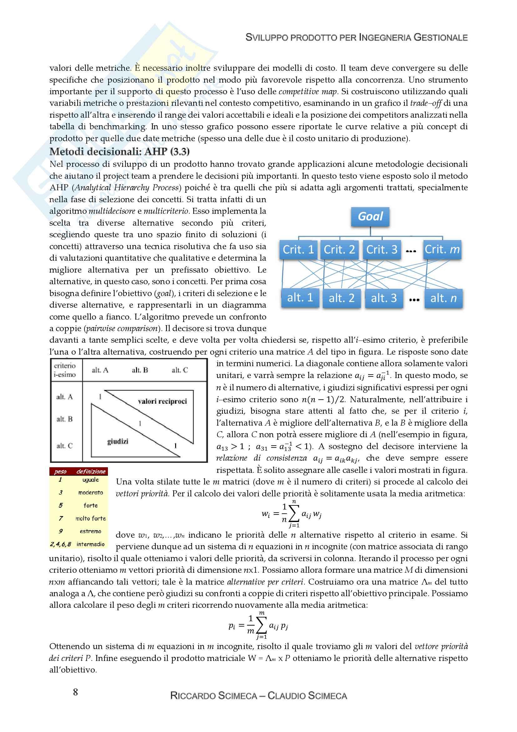 Ingegnerizzazione e sviluppo prodotto Pag. 11