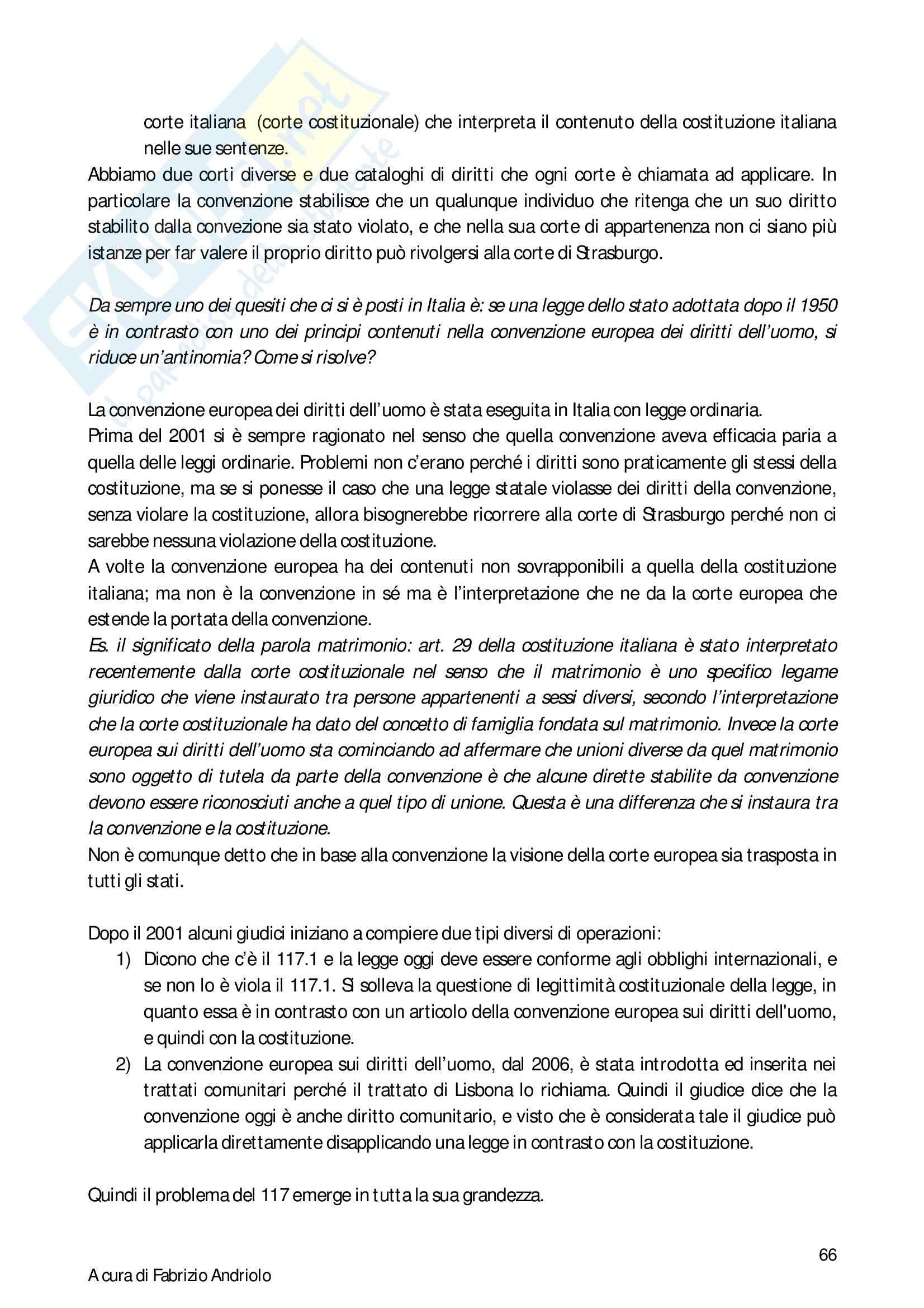Diritto Costituzionale II - Appunti Pag. 66