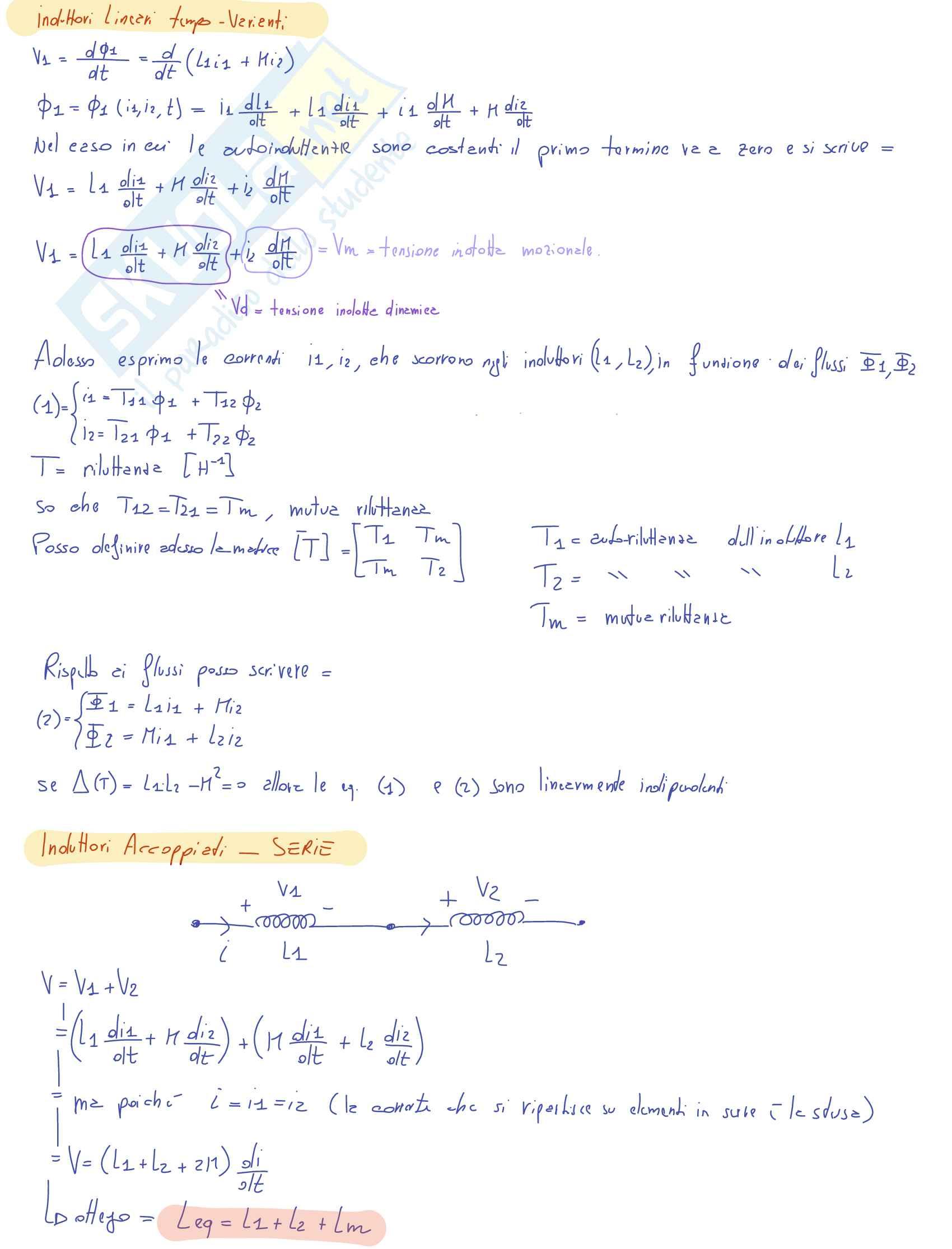 Orale completo Teoria Elettrotecnica - Appunti Pag. 11