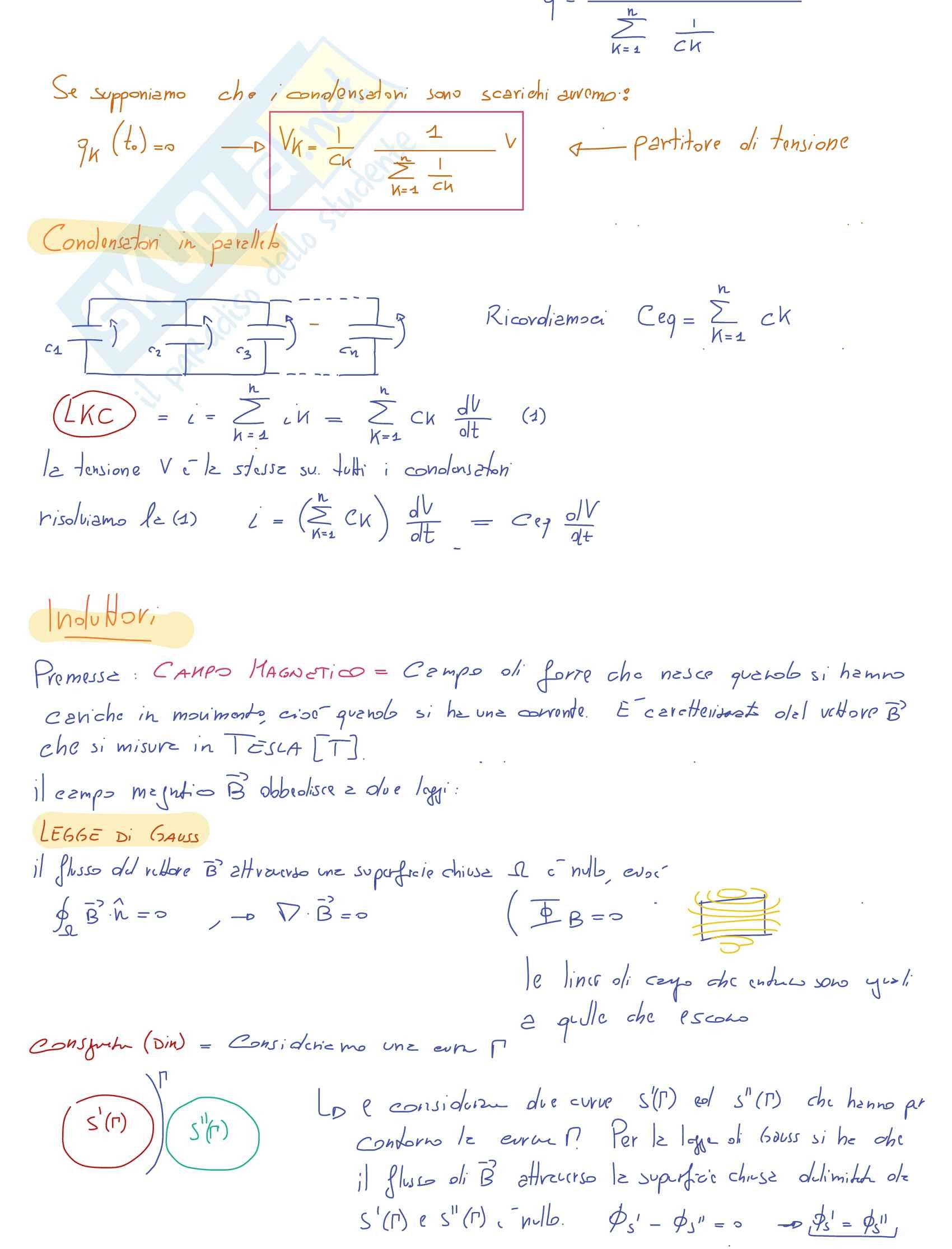 Orale completo Teoria Elettrotecnica - Appunti Pag. 6