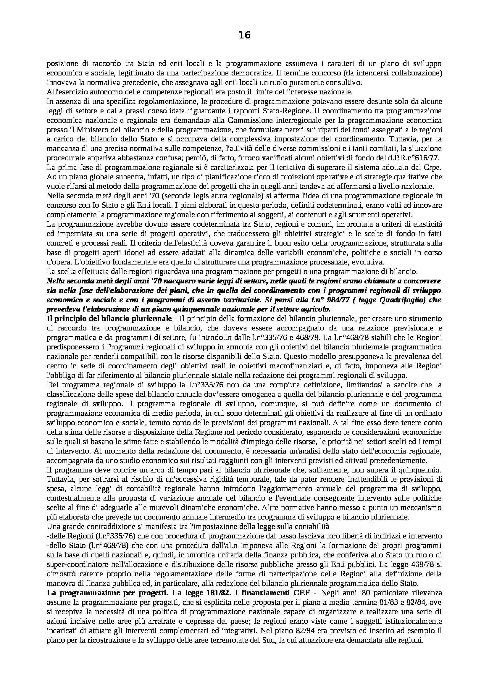 Riassunto esame Diritto Pubblico dell'Economia, prof. Capunzo, libro consigliato Argomenti di Diritto Pubblico dell'Economia di Capunzo Pag. 16