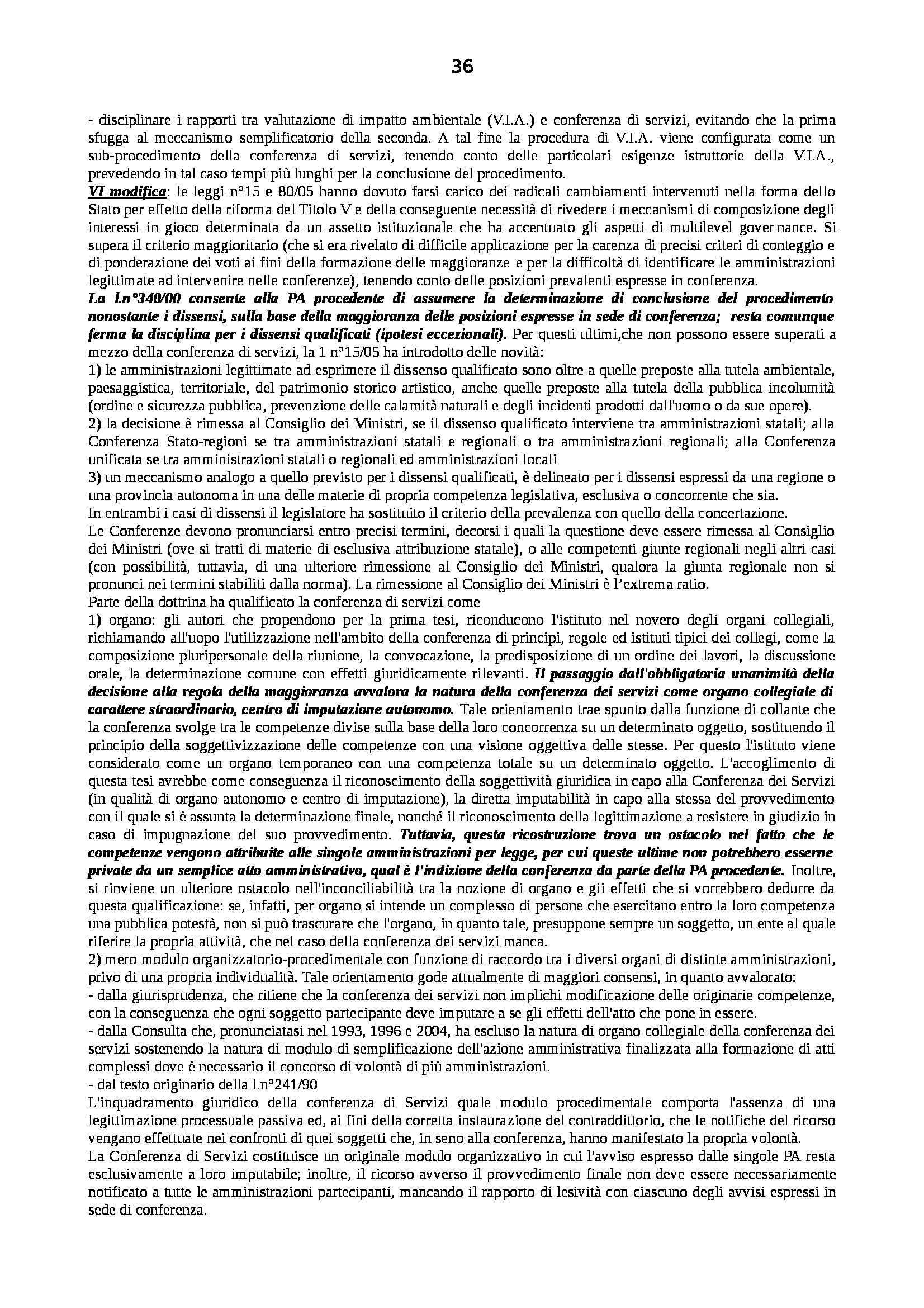 Riassunto esame Diritto Pubblico dell'Economia, prof. Capunzo, libro consigliato Argomenti di Diritto Pubblico dell'Economia di Capunzo Pag. 36