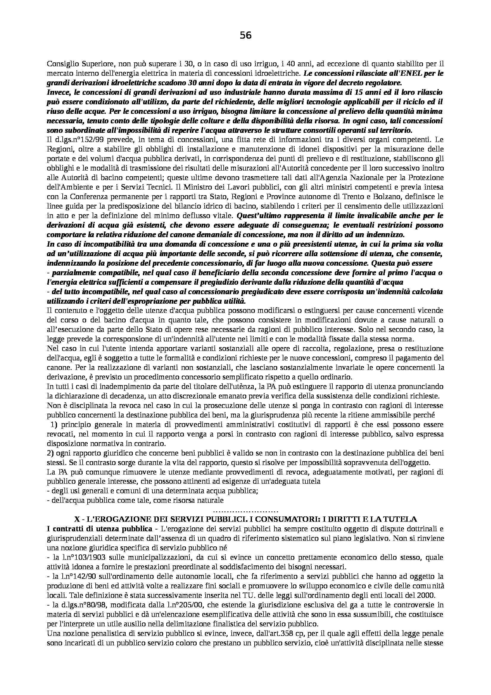 Riassunto esame Diritto Pubblico dell'Economia, prof. Capunzo, libro consigliato Argomenti di Diritto Pubblico dell'Economia di Capunzo Pag. 56
