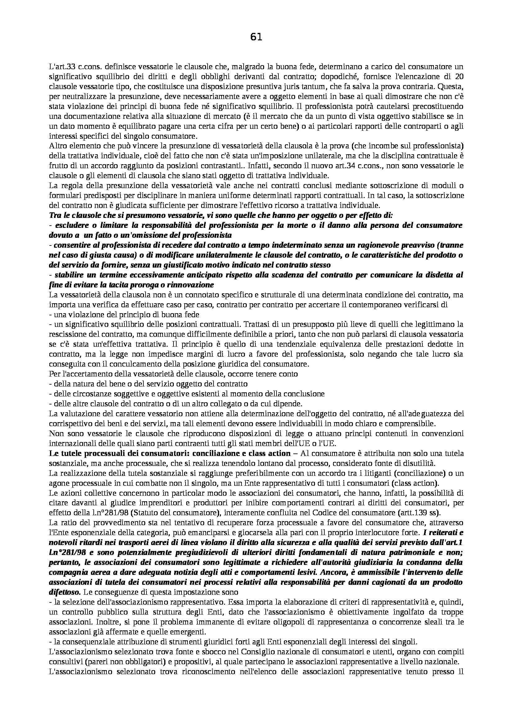 Riassunto esame Diritto Pubblico dell'Economia, prof. Capunzo, libro consigliato Argomenti di Diritto Pubblico dell'Economia di Capunzo Pag. 61