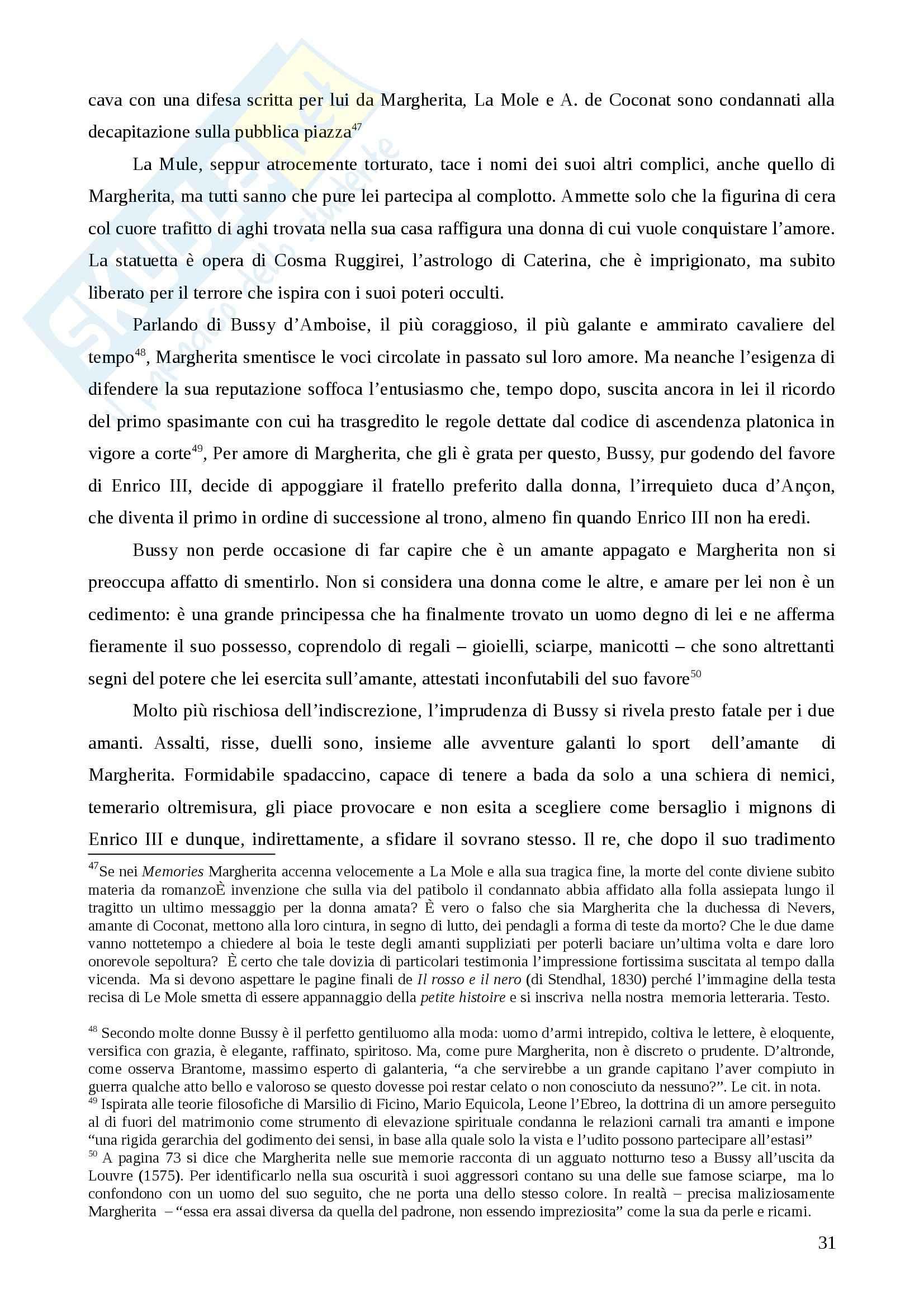 Riassunto esame Storia della pedagogia, prof. Colaci, libro consigliato Amanti e regine. Il potere delle donne di Cravieri Pag. 31