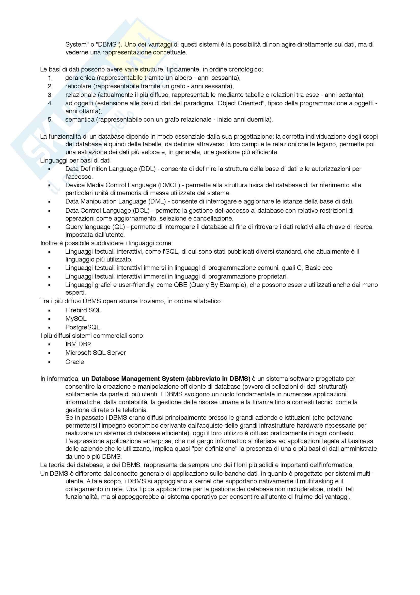 Informatica di base - Riassunto esame Pag. 16