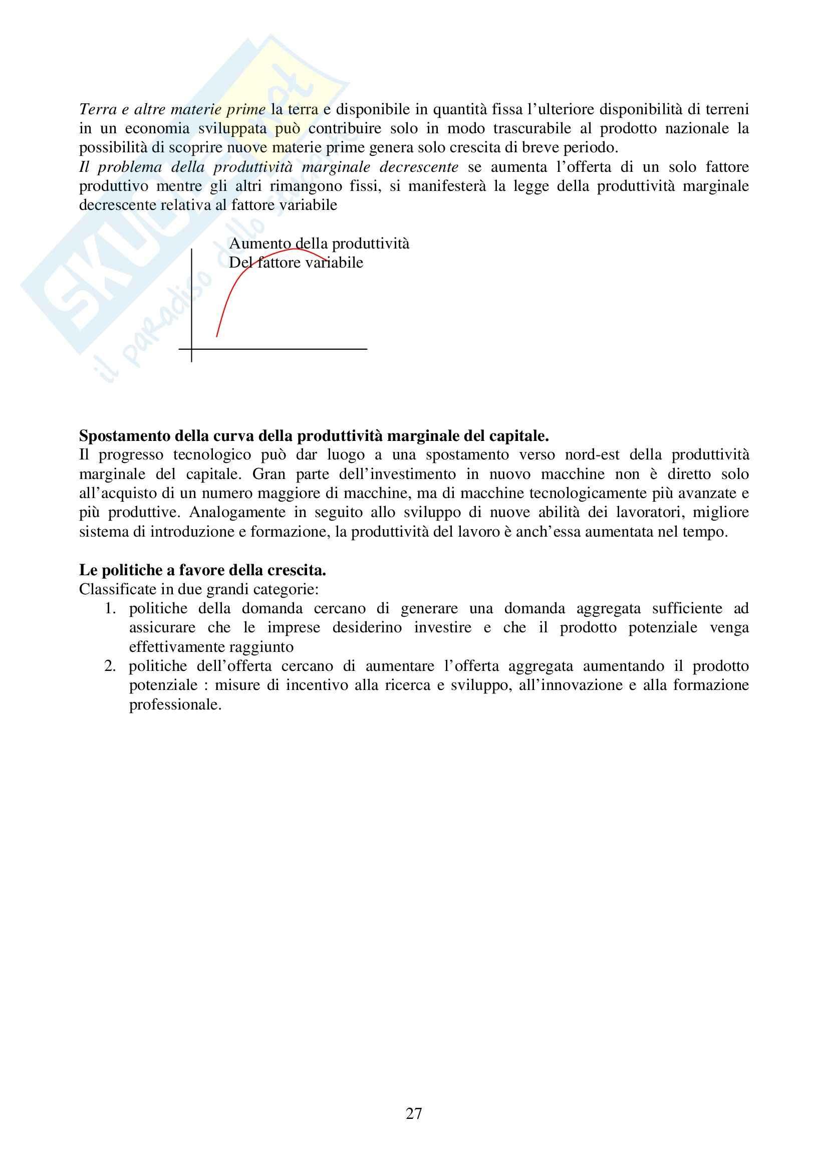 Riassunto esame Economia Politica, prof. Screpanti, libro consigliato Elementi di Economia, Sloman Pag. 26