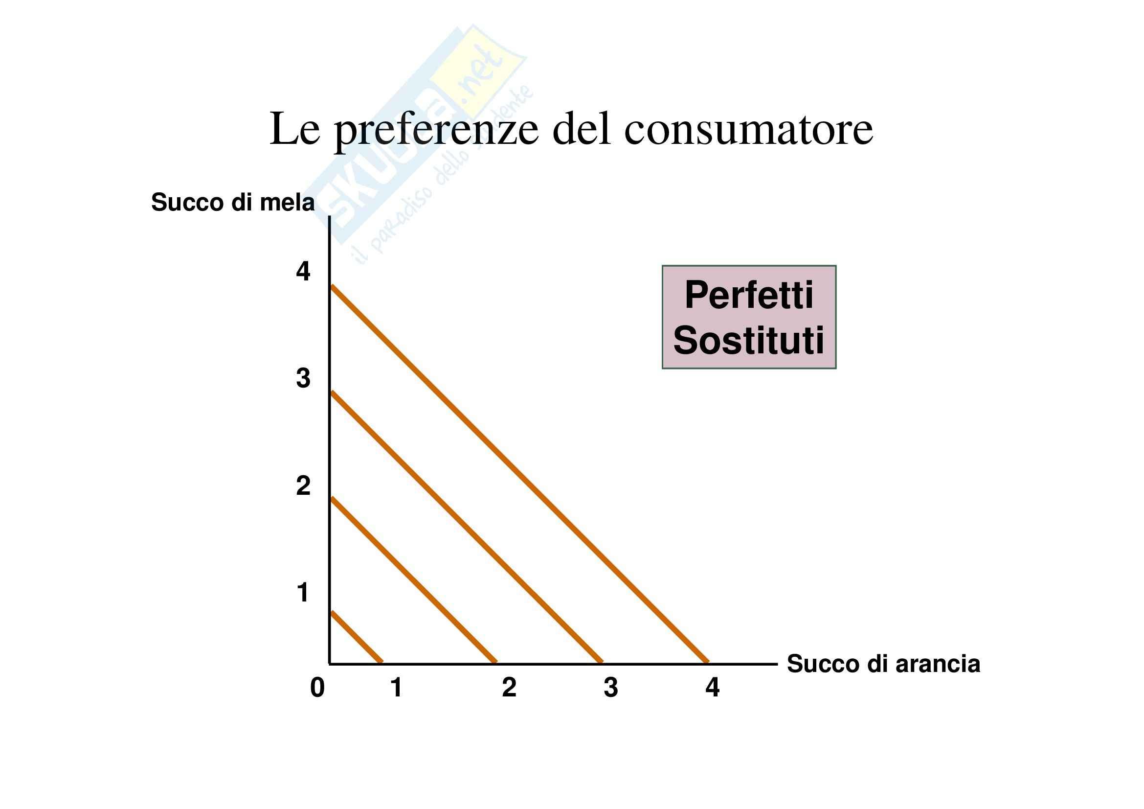 Economia politica - il consumatore e la domanda Pag. 41