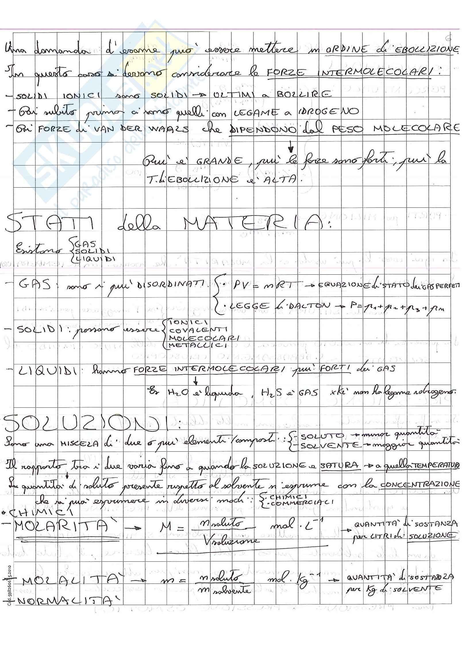Lezioni, Chimica Pag. 11