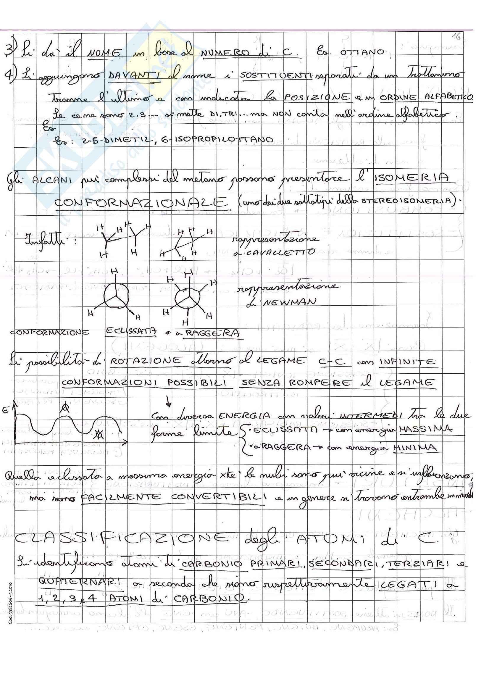 Lezioni, Chimica Pag. 31