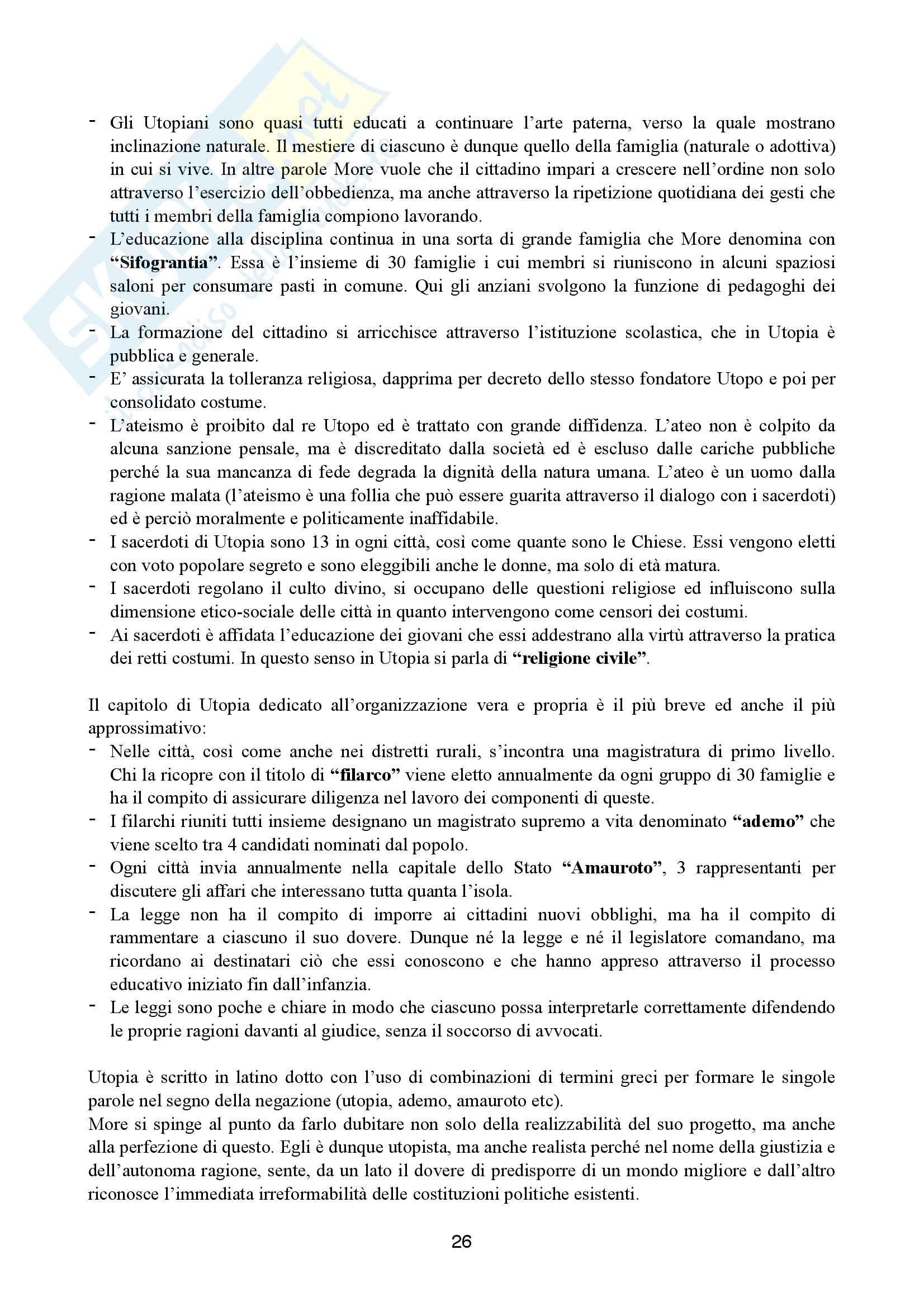 Storia del pensiero politico-dottrine politiche Pag. 26