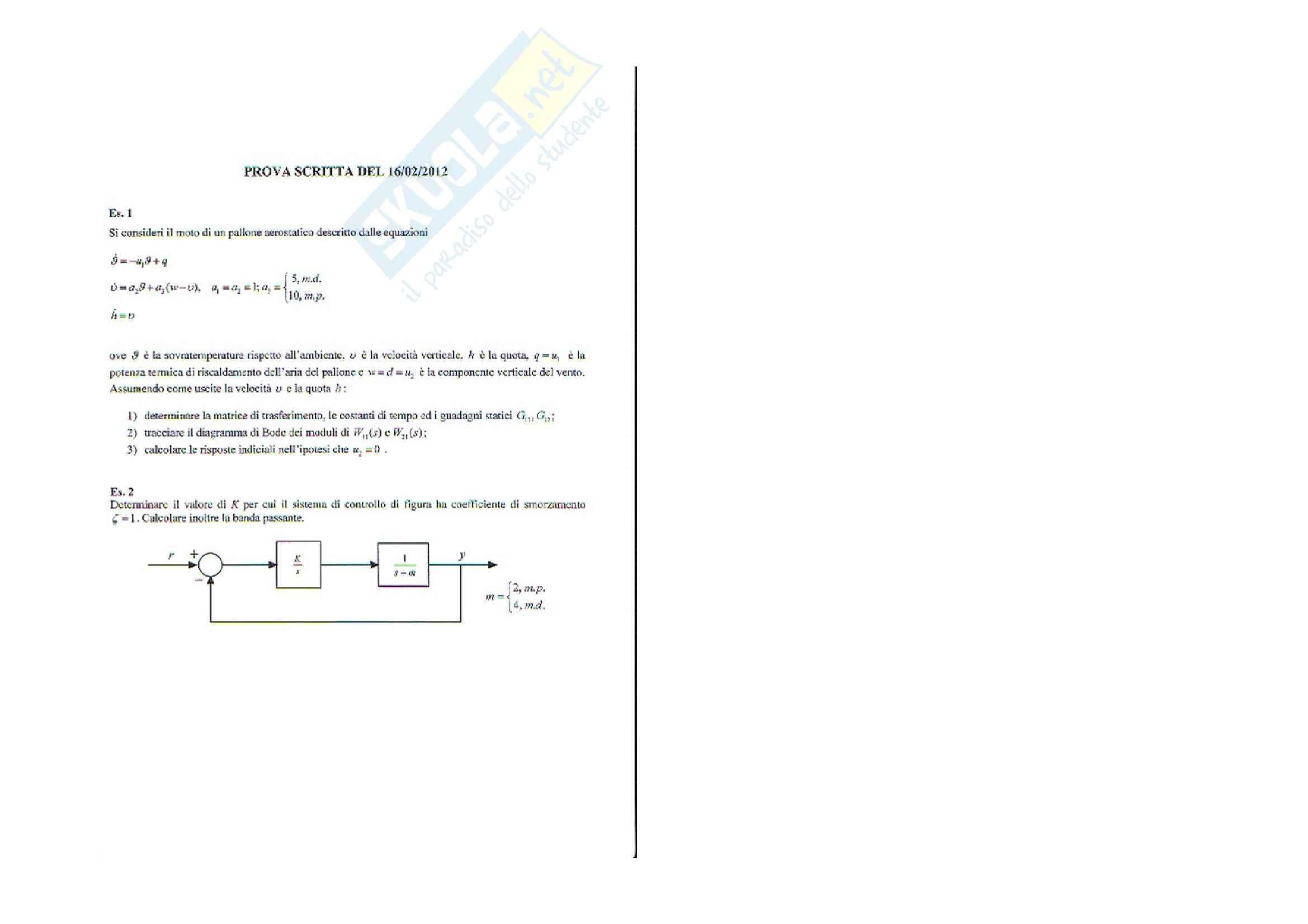 esercitazione R. Iervolino Fondamenti sistemi dinamici