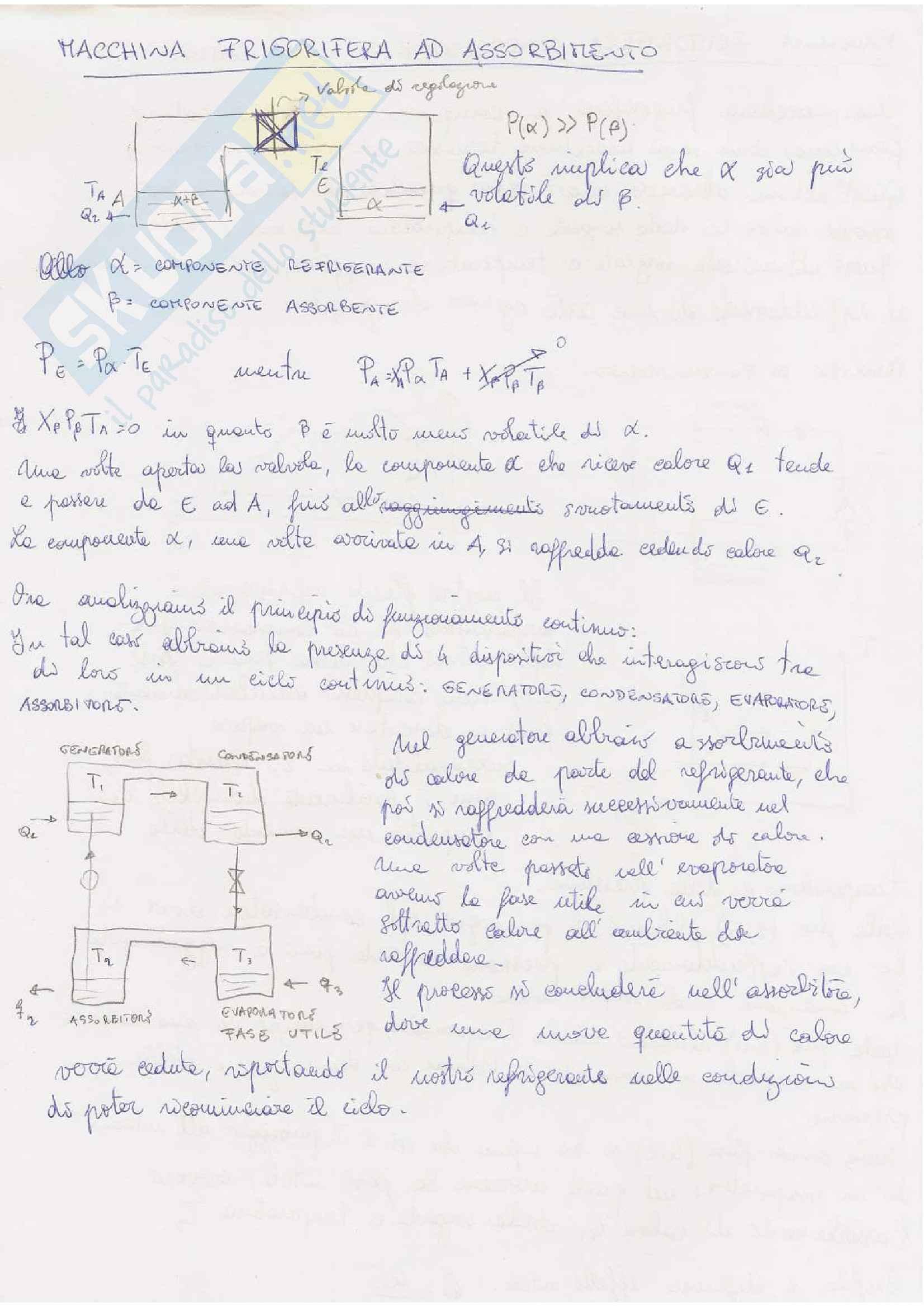 Lezioni: Appunti di Fisica tecnica