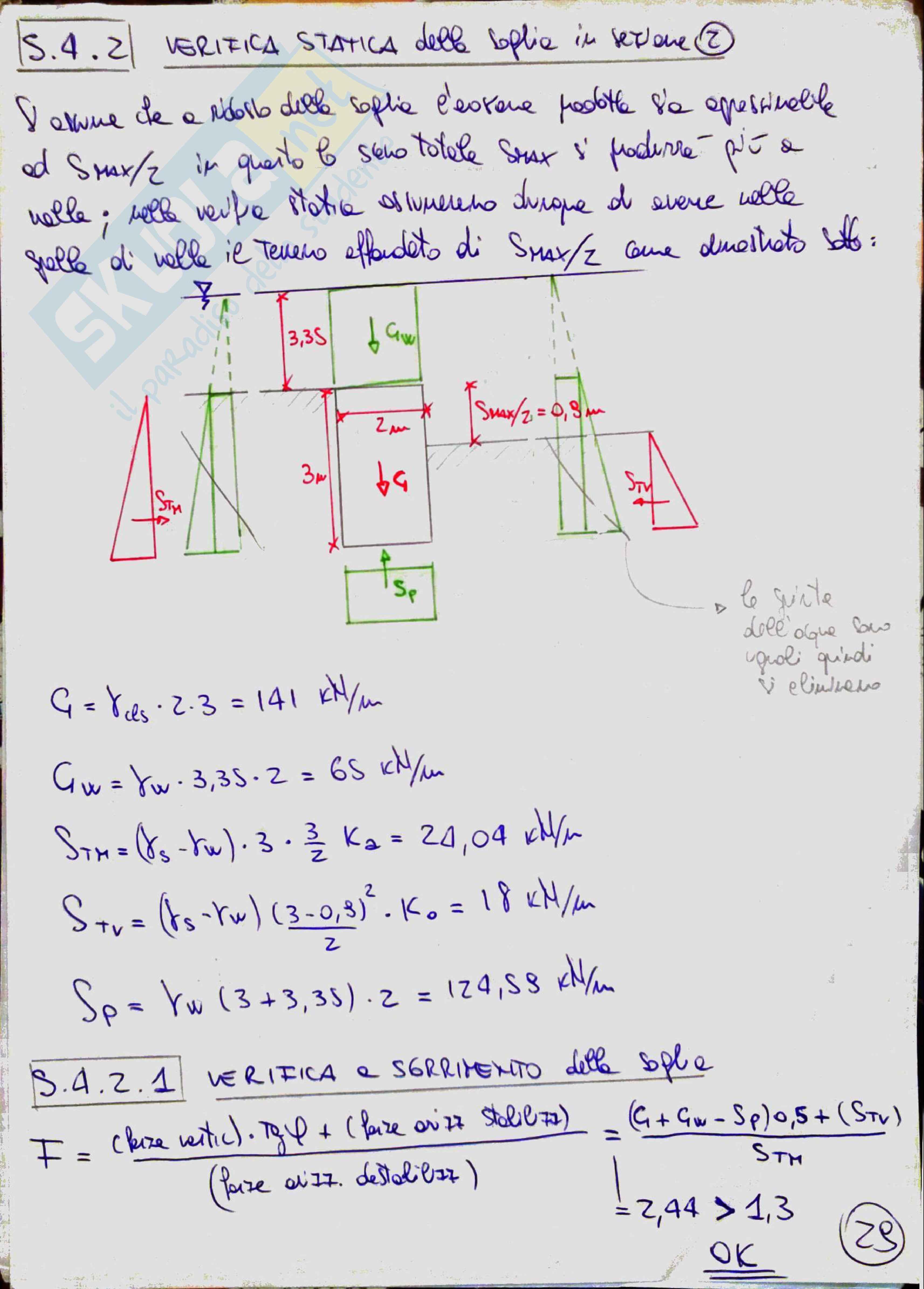 Costruzioni idrauliche 2 (River Engineering) - Temi svolti Pag. 31