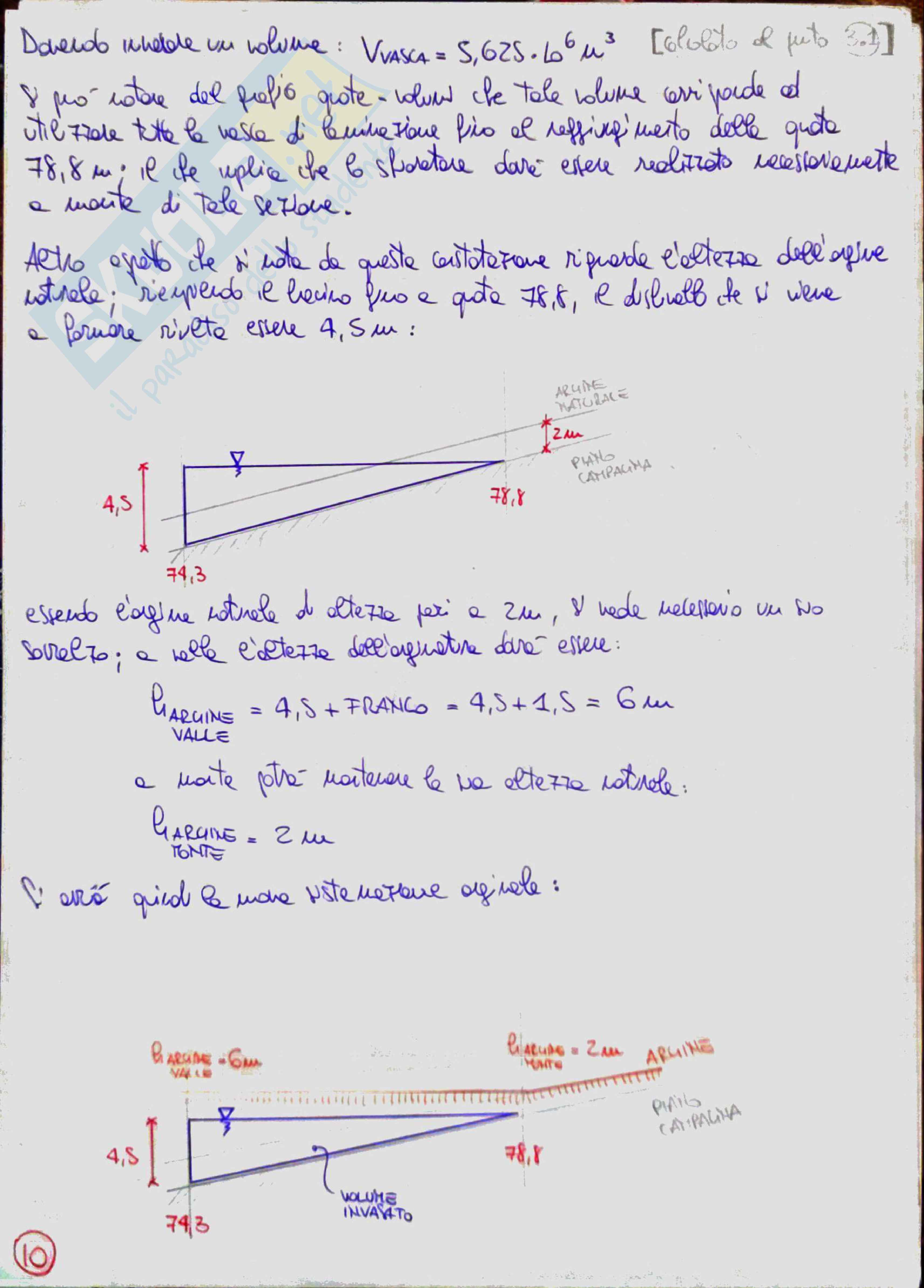 Costruzioni idrauliche 2 (River Engineering) - Temi svolti Pag. 46