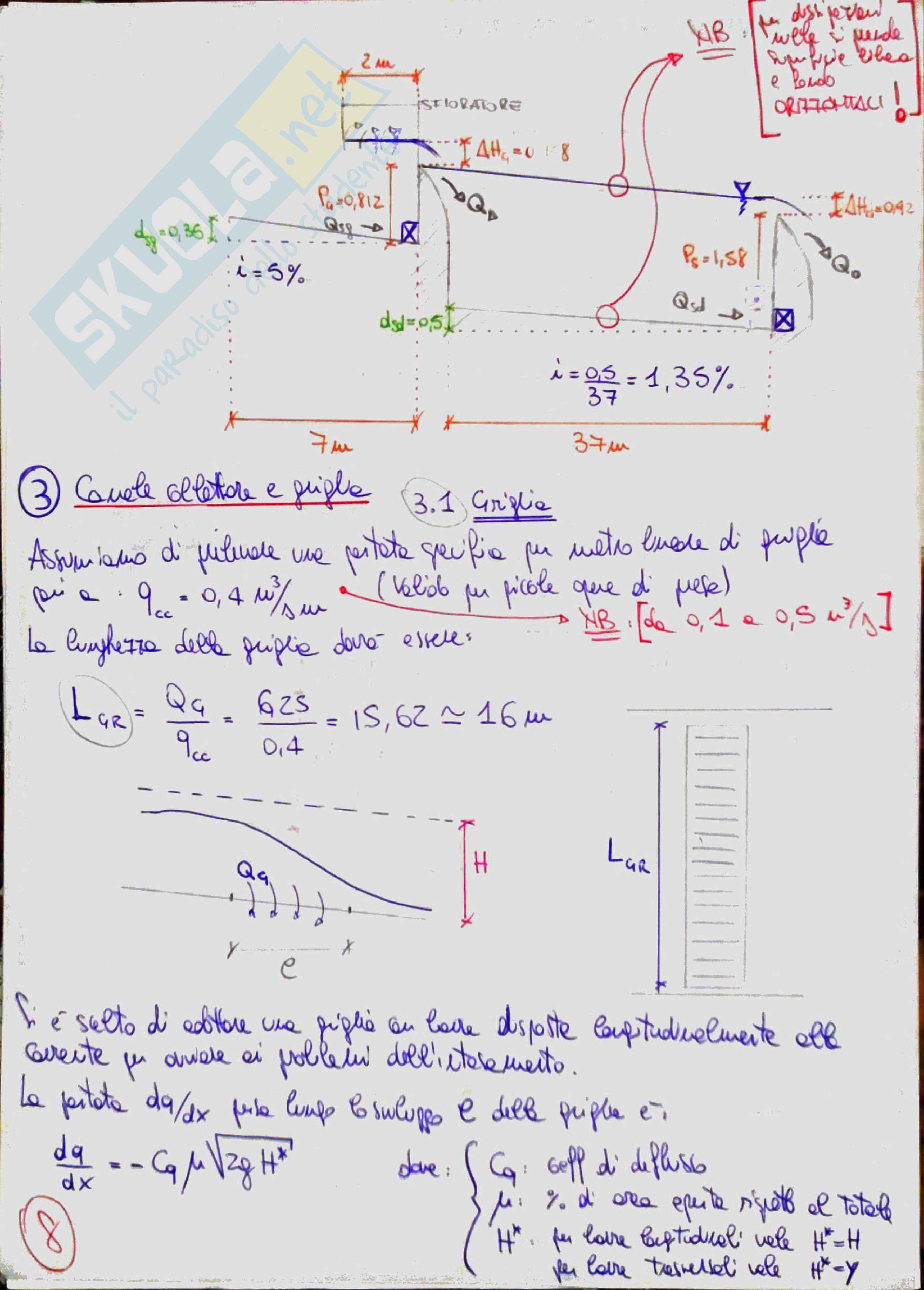 Costruzioni idrauliche 2 (River Engineering) - Temi svolti Pag. 71