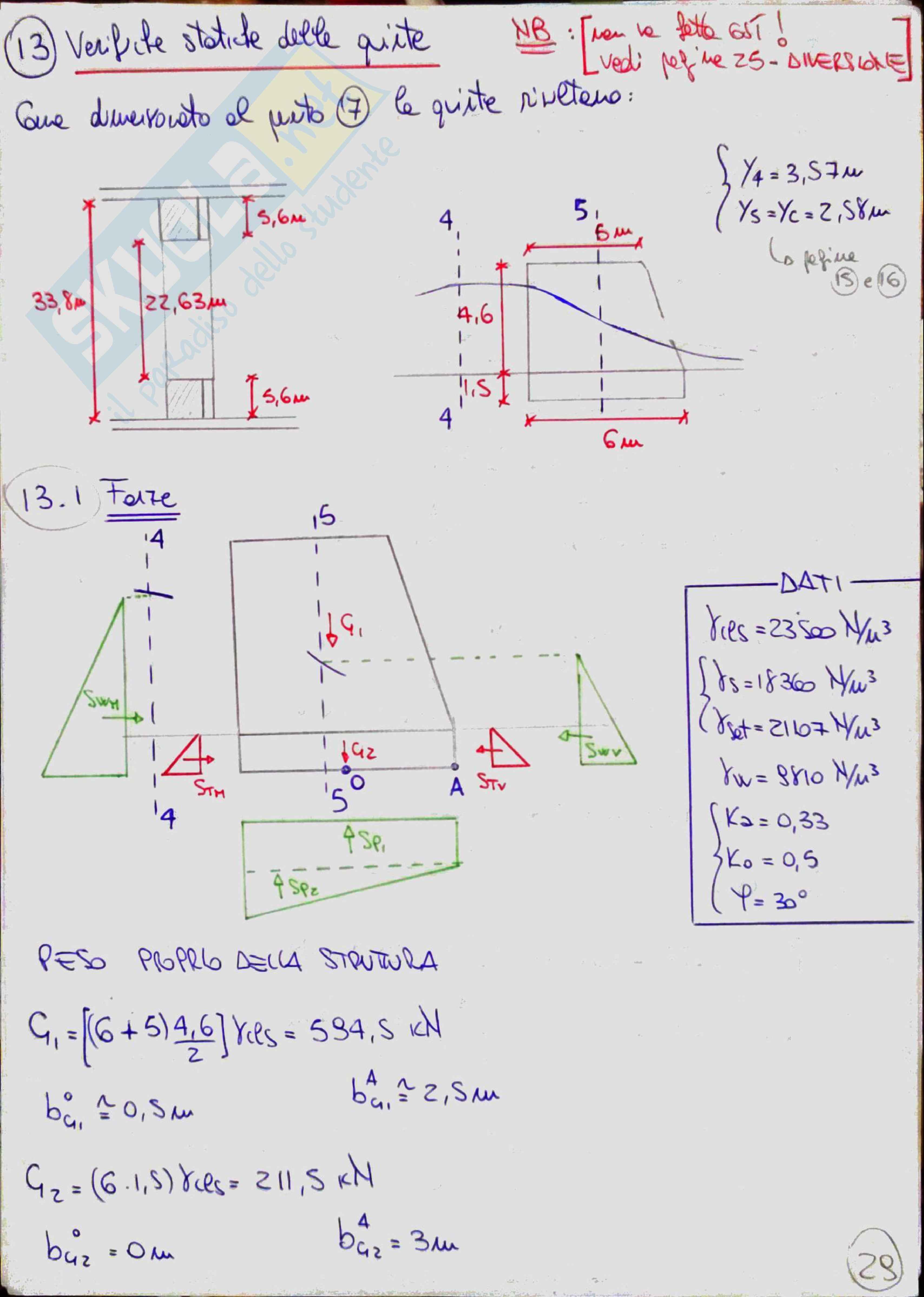 Costruzioni idrauliche 2 (River Engineering) - Temi svolti Pag. 91