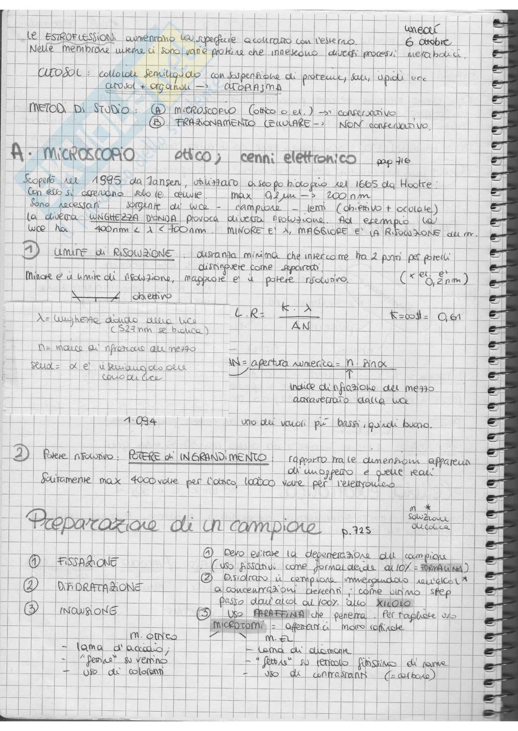 Istituzioni di Biologia Pag. 2