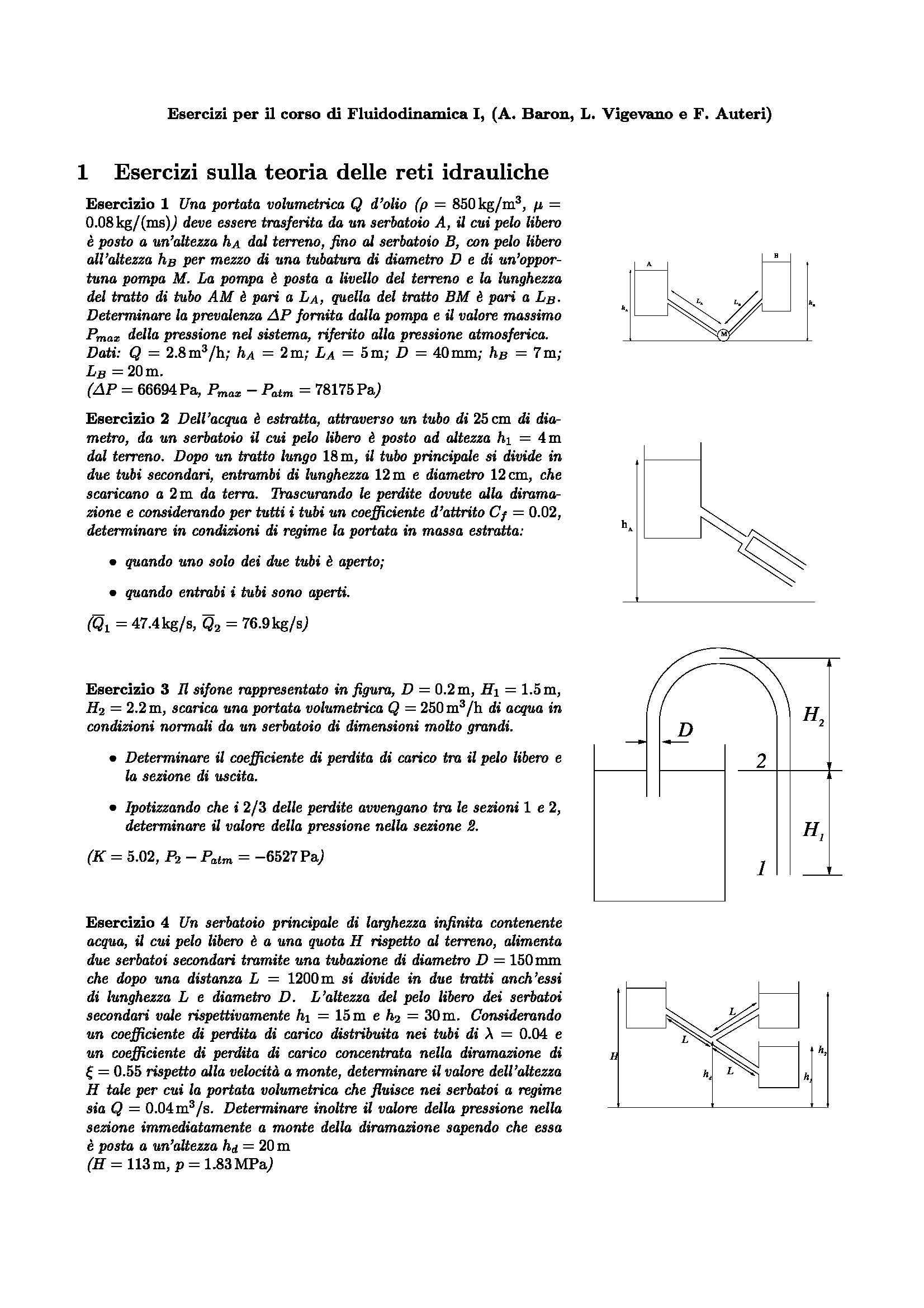 esercitazione F. Auteri Fluidodinamica