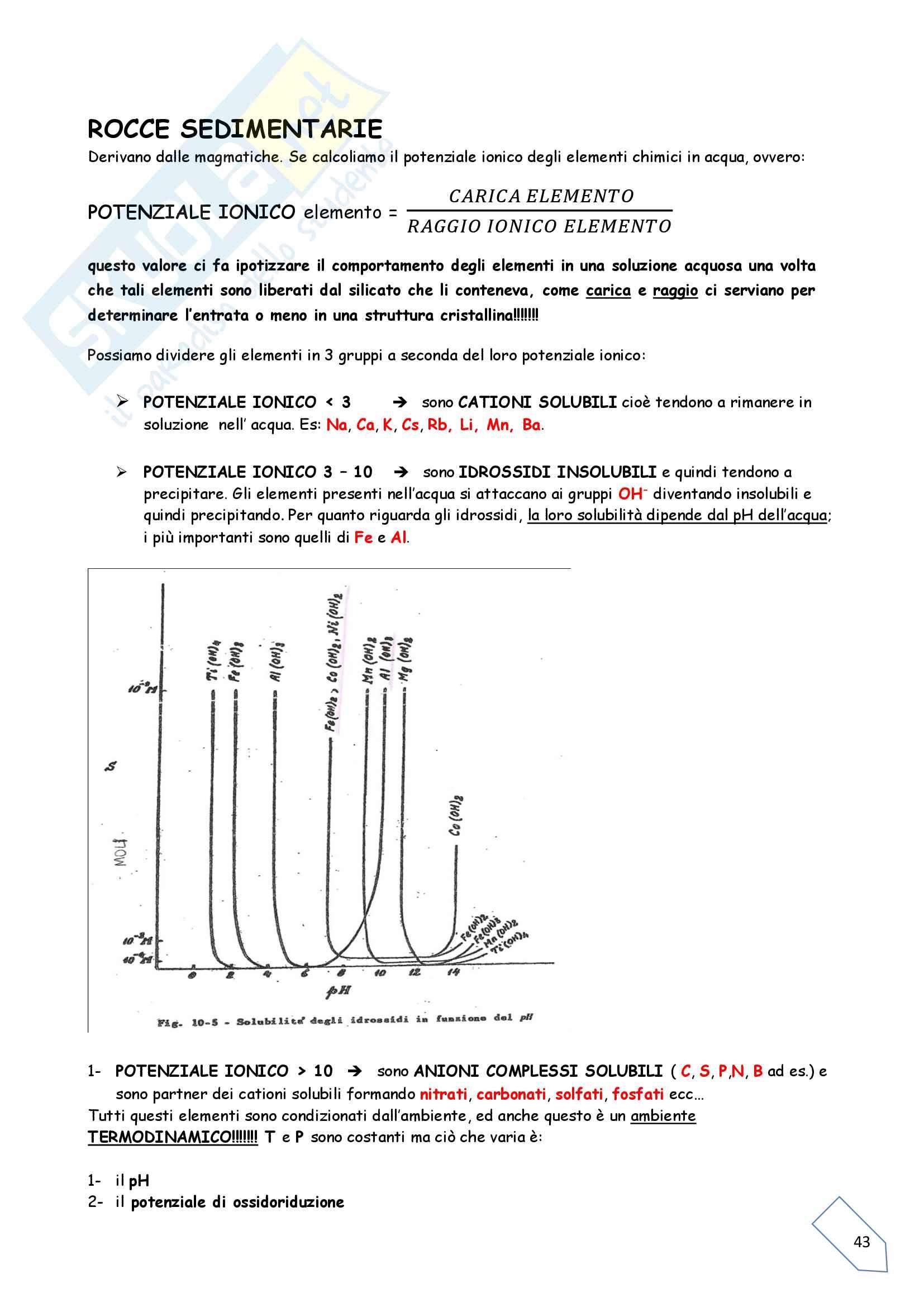 Geochimica - Parte 2 Pag. 6