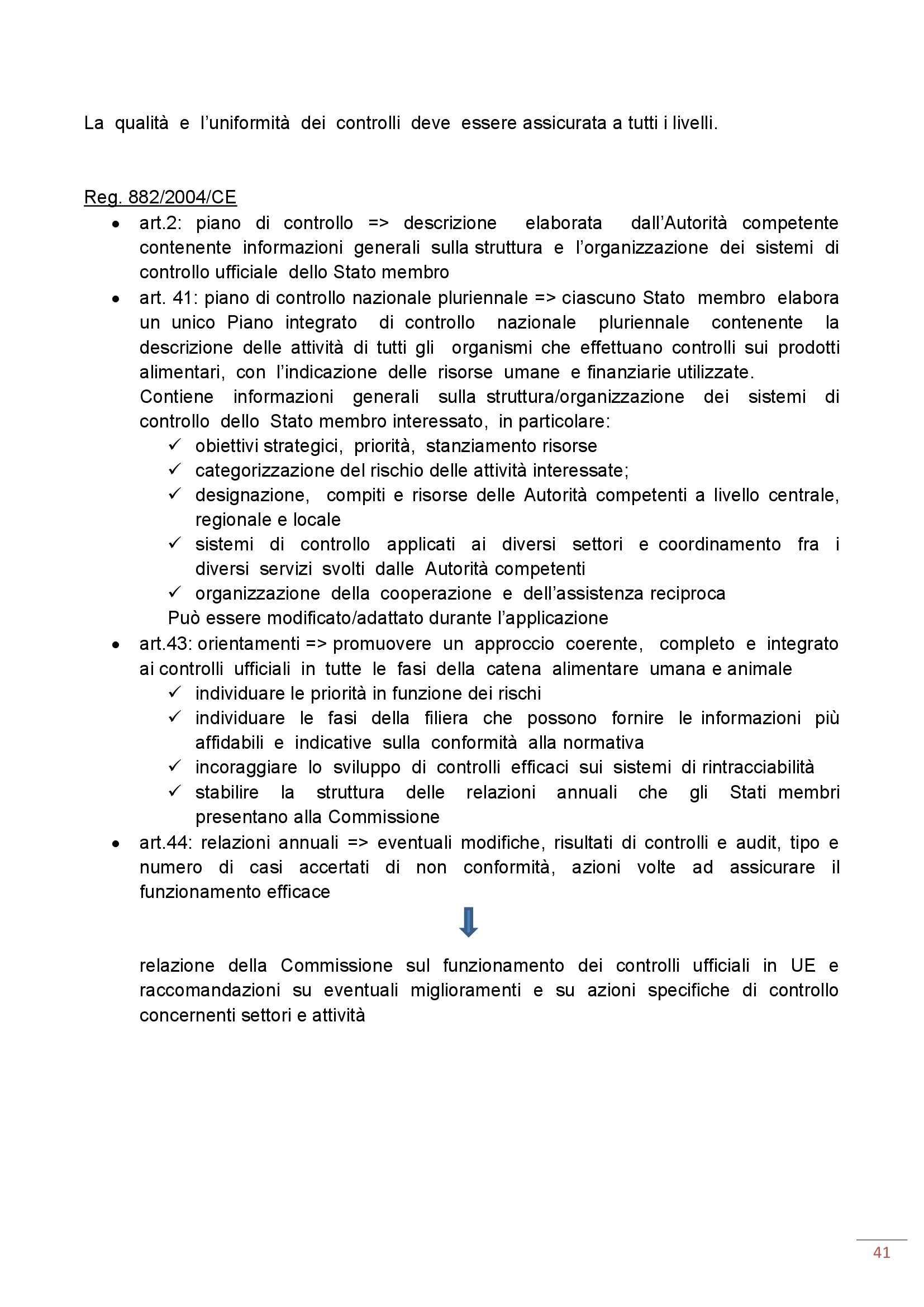 Ispezione degli alimenti di origine animale - Appunti Pag. 41