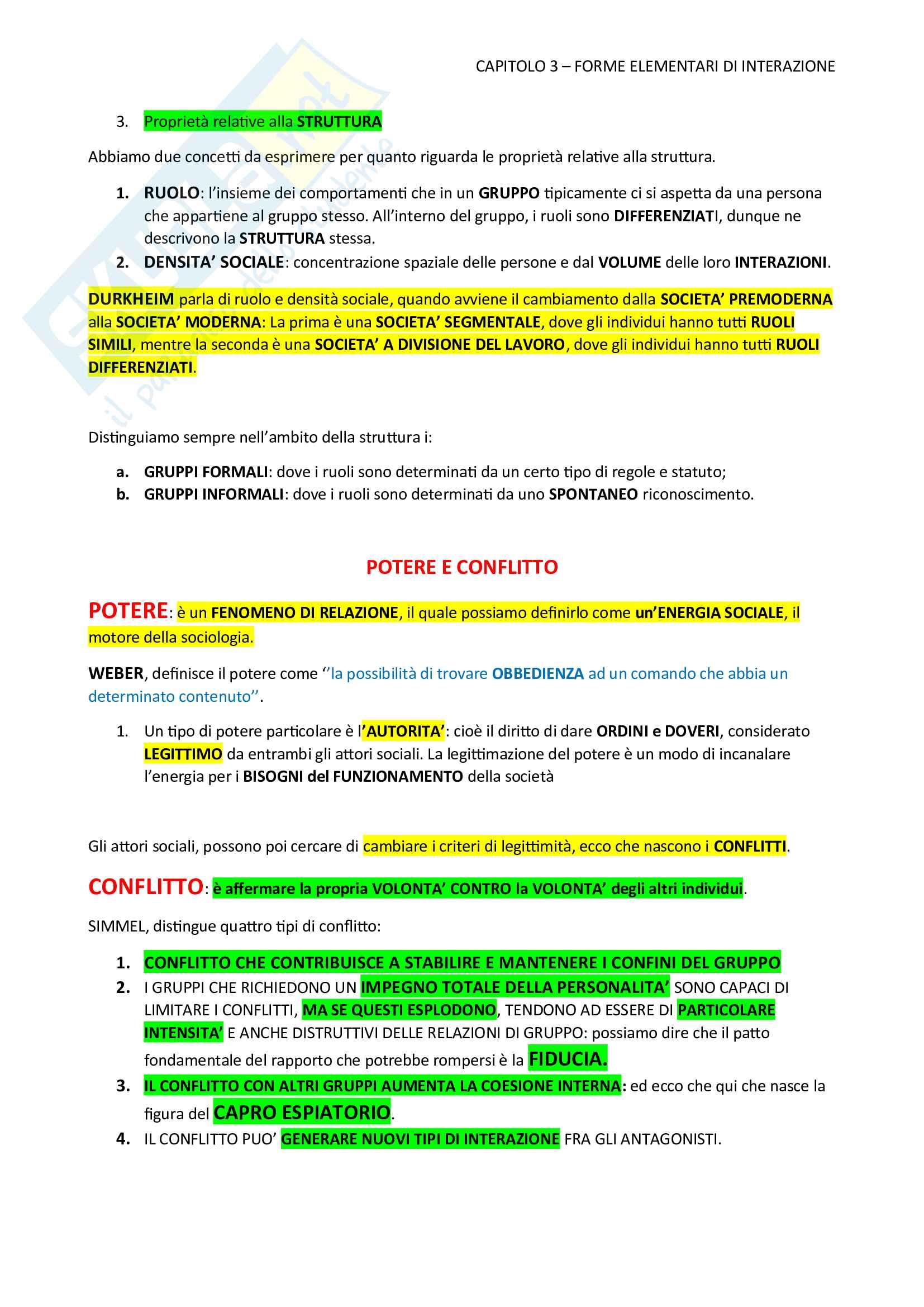 Sociologia Appunti esame Mandich Pag. 11