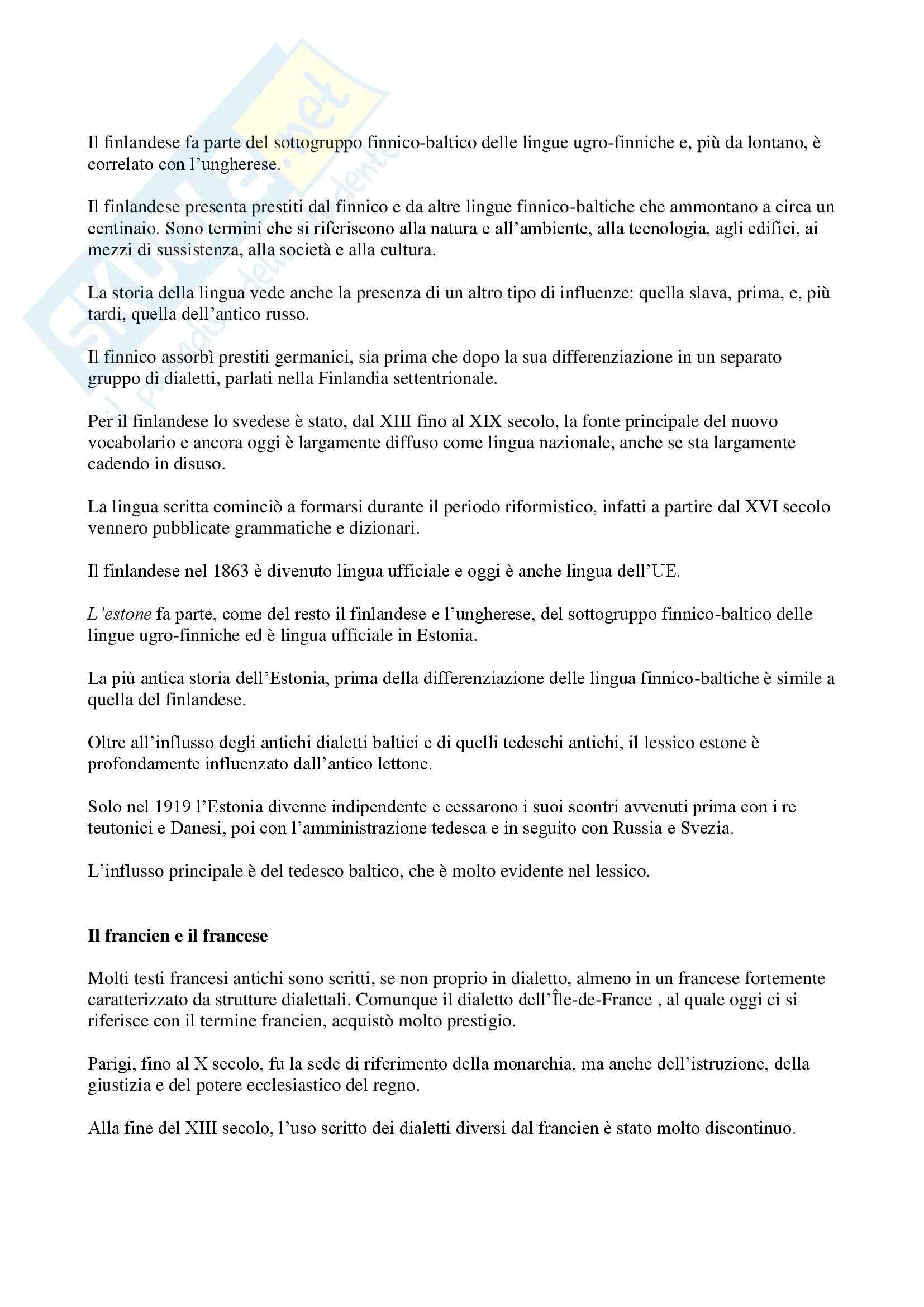 Geografia delle lingue e toponomastica - Appunti Pag. 2