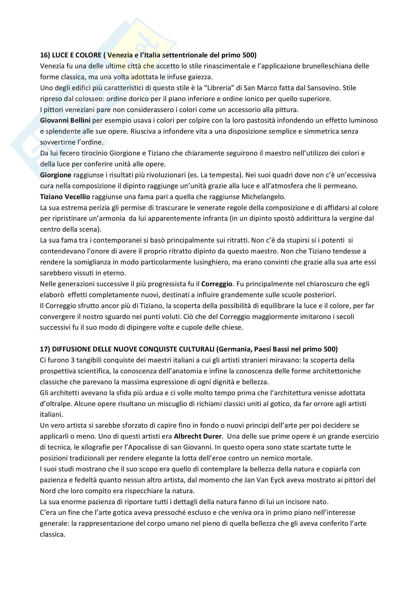 Riassunto esame Storia dell'Arte Greca e Romana, prof. Busana, libro consigliato La Storia dell'Arte, Gombrich Pag. 11