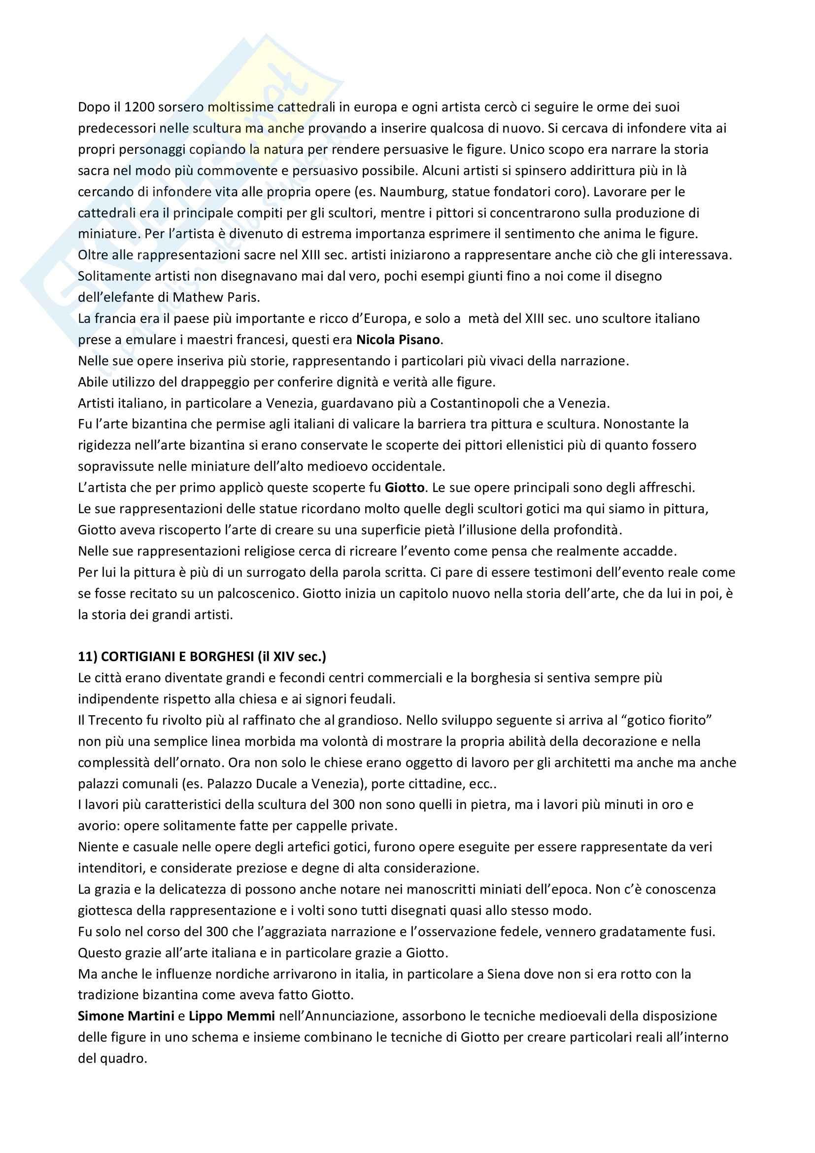 Riassunto esame Storia dell'Arte Greca e Romana, prof. Busana, libro consigliato La Storia dell'Arte, Gombrich Pag. 6