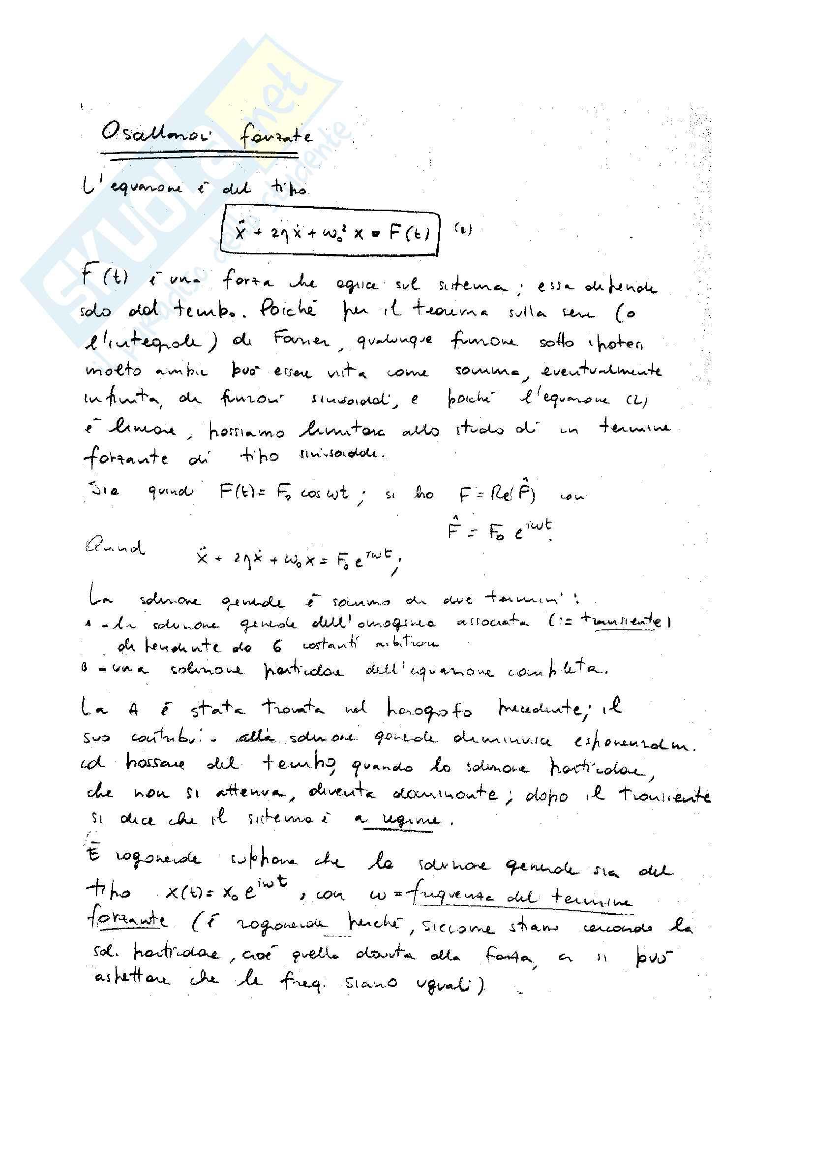 Oscillazioni lineari Pag. 6