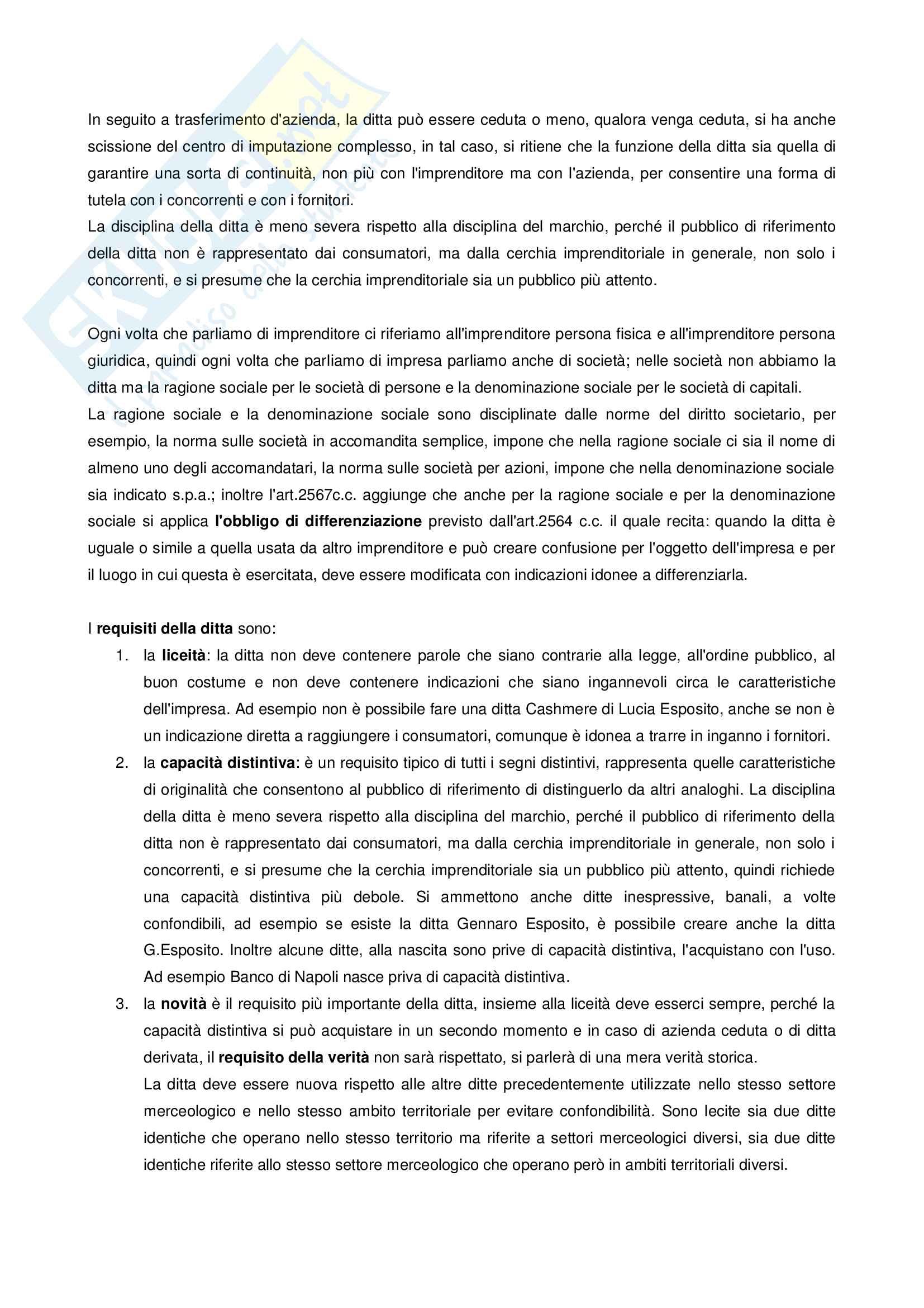 Disciplina Ditta Insegna Marchio Pag. 2