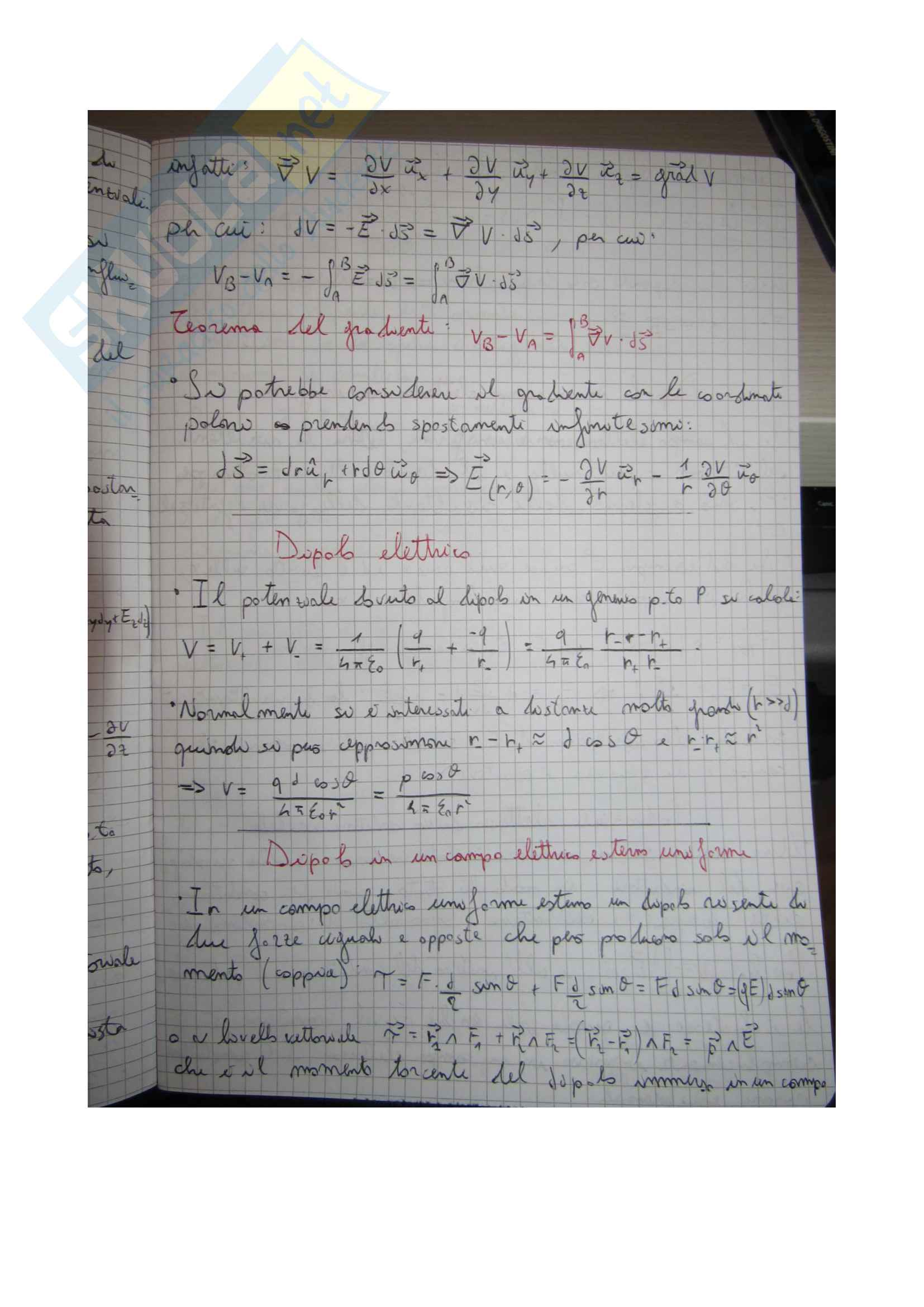 Fisica 2 prof. V. Berardi Pag. 11