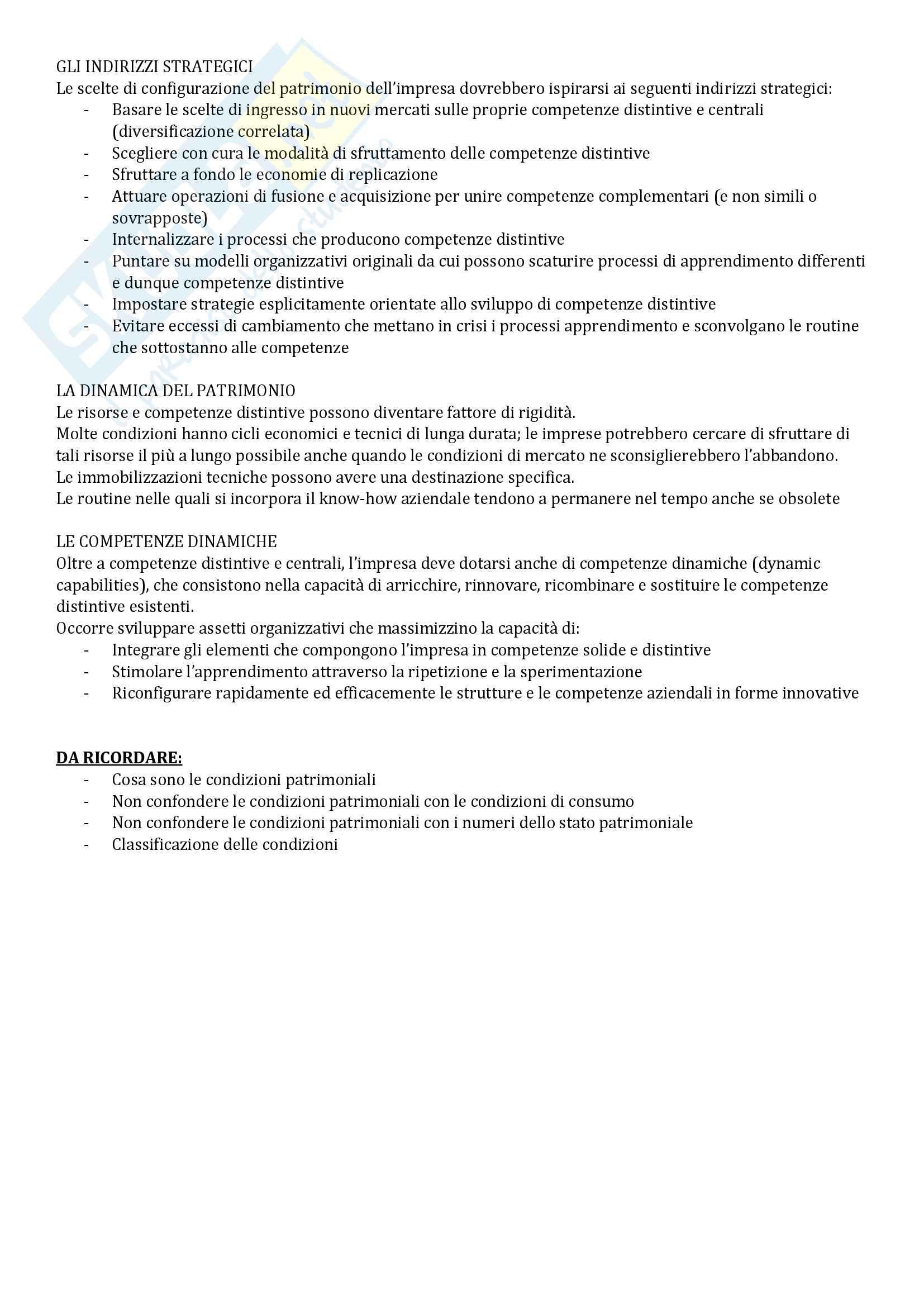 Riassunto esame Economia Aziendale, libro consigliato Corso di Economia Aziendale. ABC: Airoldi, Brunetti e Coda, Il Mulino Pag. 46