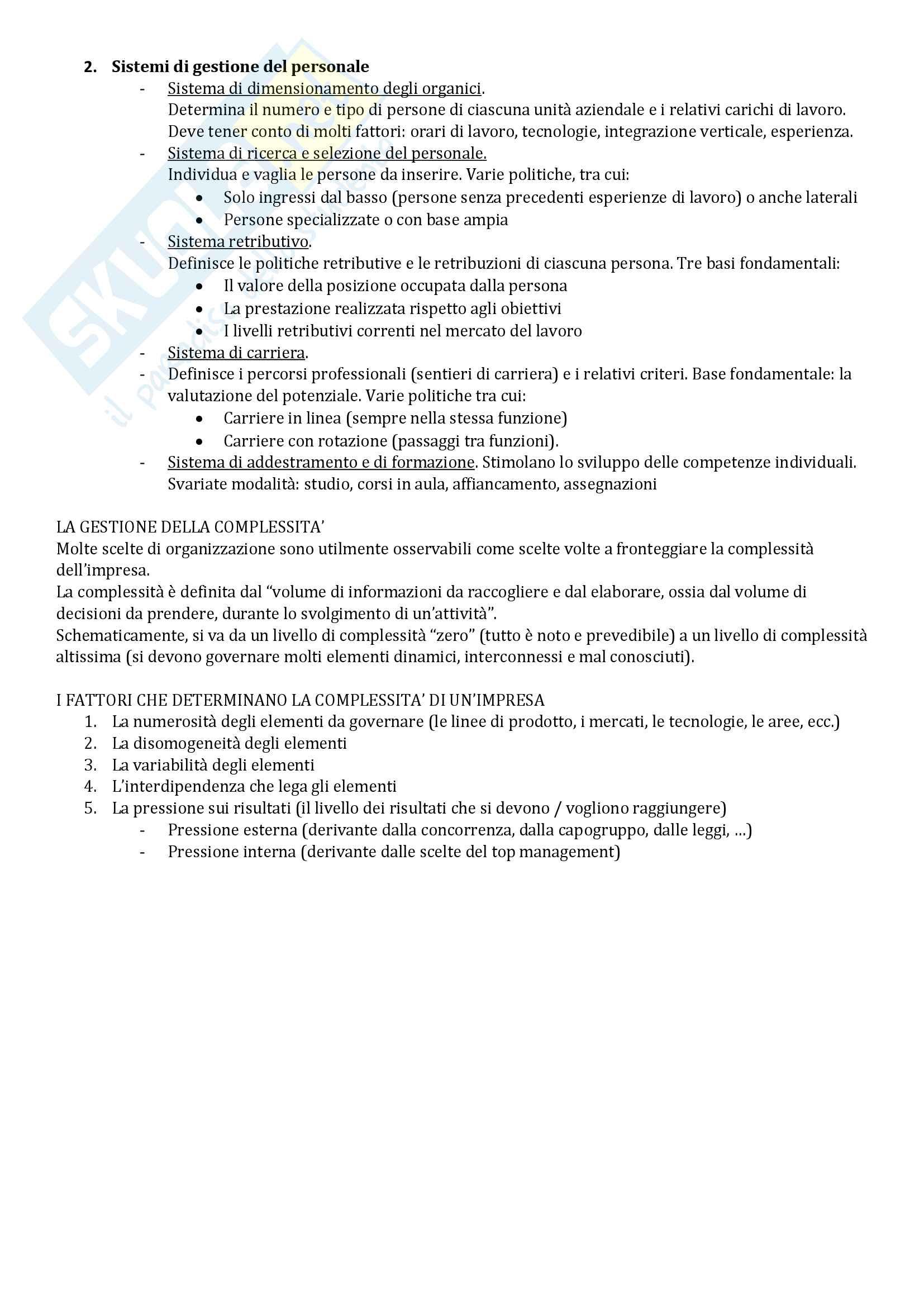 Riassunto esame Economia Aziendale, libro consigliato Corso di Economia Aziendale. ABC: Airoldi, Brunetti e Coda, Il Mulino Pag. 51