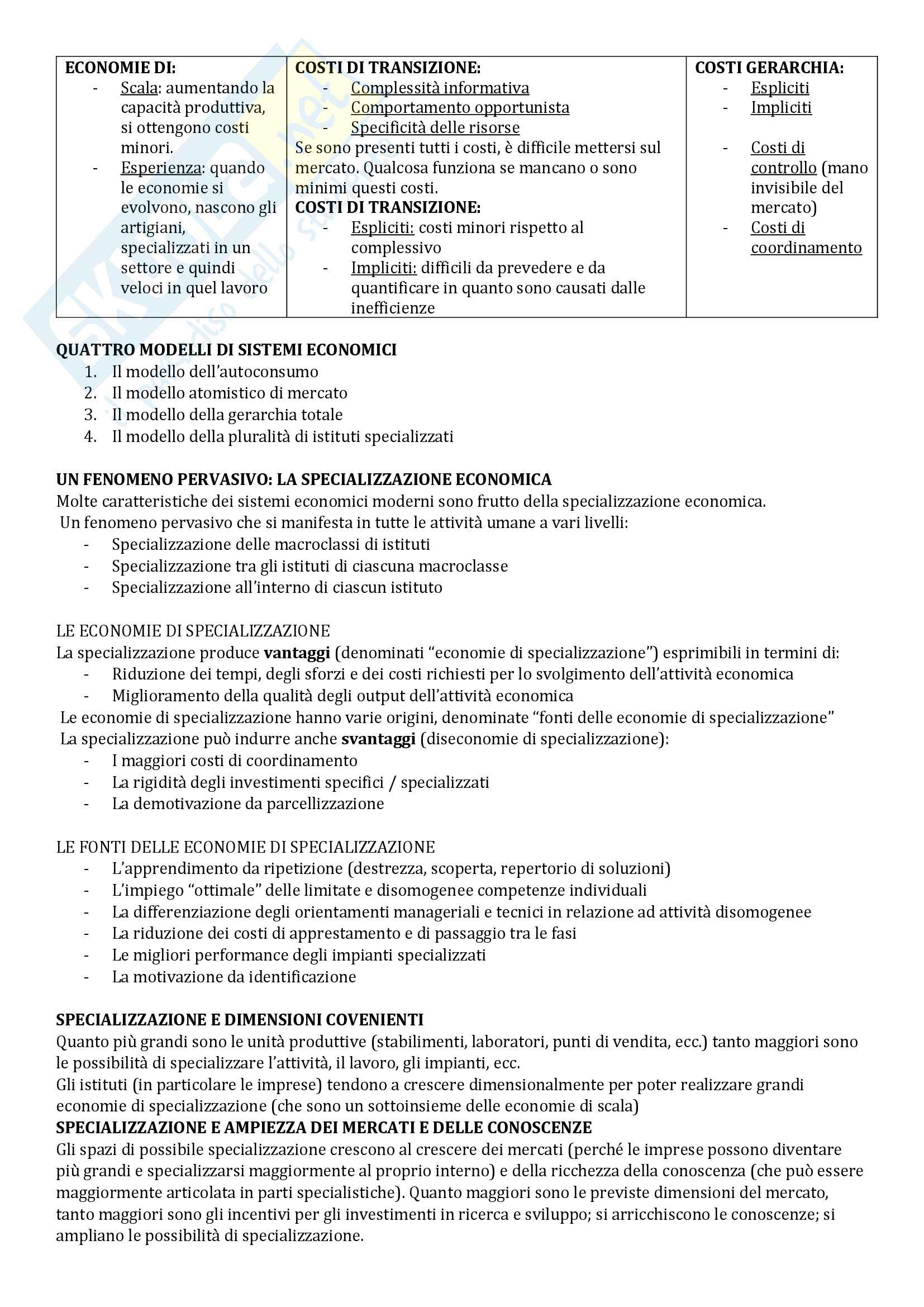 Riassunto esame Economia Aziendale, libro consigliato Corso di Economia Aziendale. ABC: Airoldi, Brunetti e Coda, Il Mulino Pag. 6