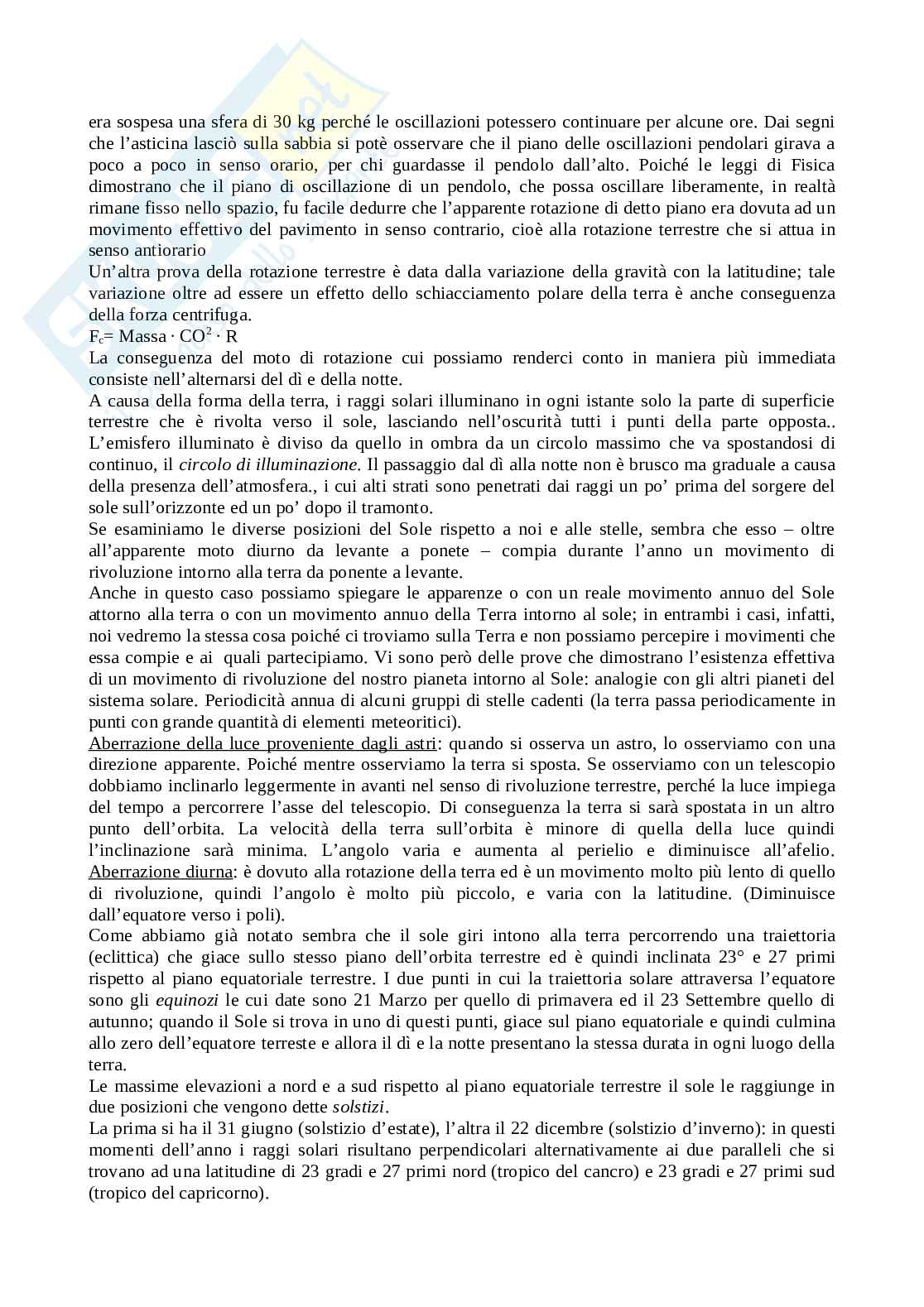 Riassunto esame Astronomia (ottimi per la maturità), prof. Ciotti Pag. 16