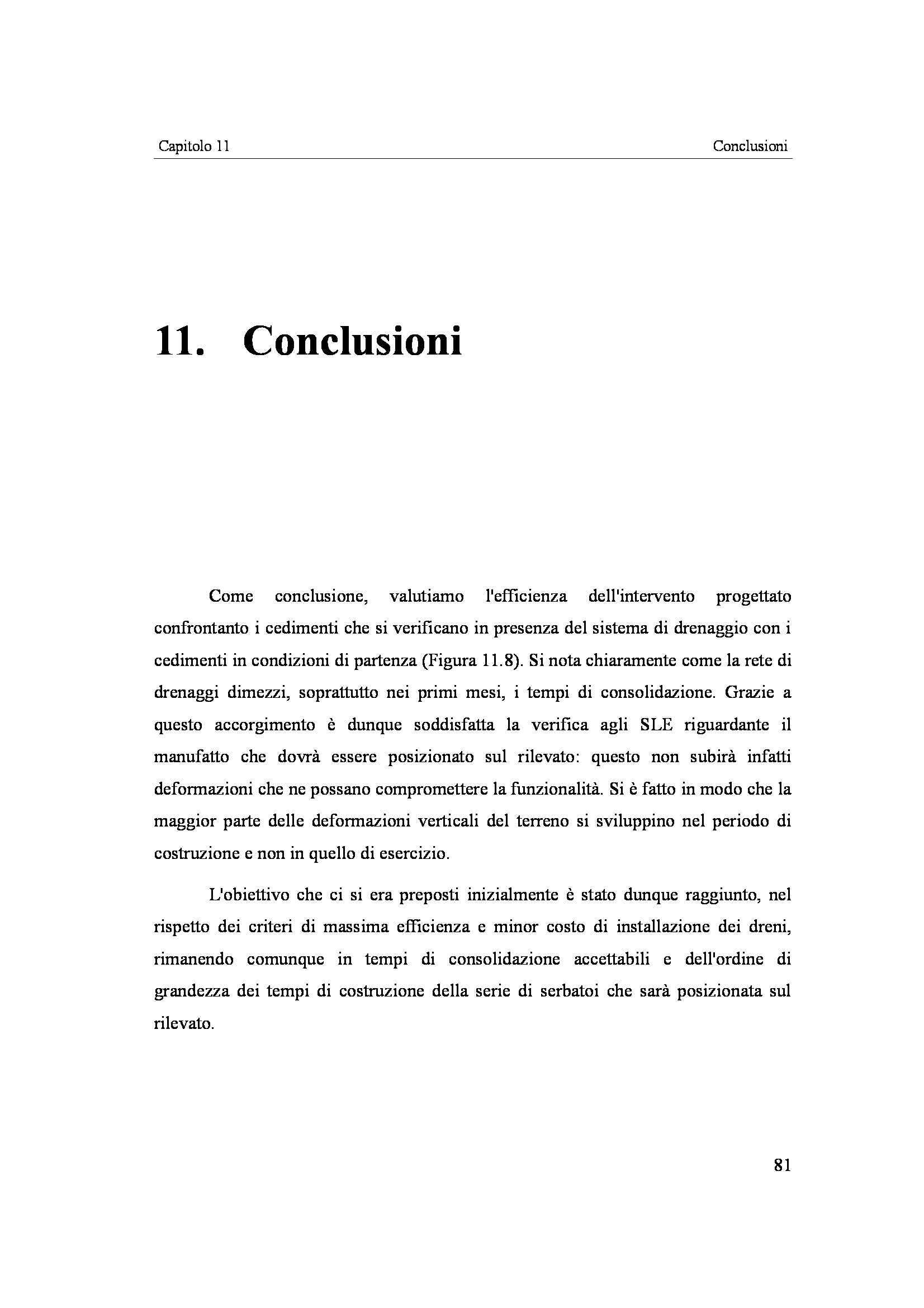 Tesi - Cedimenti su terreni compressibili Pag. 81