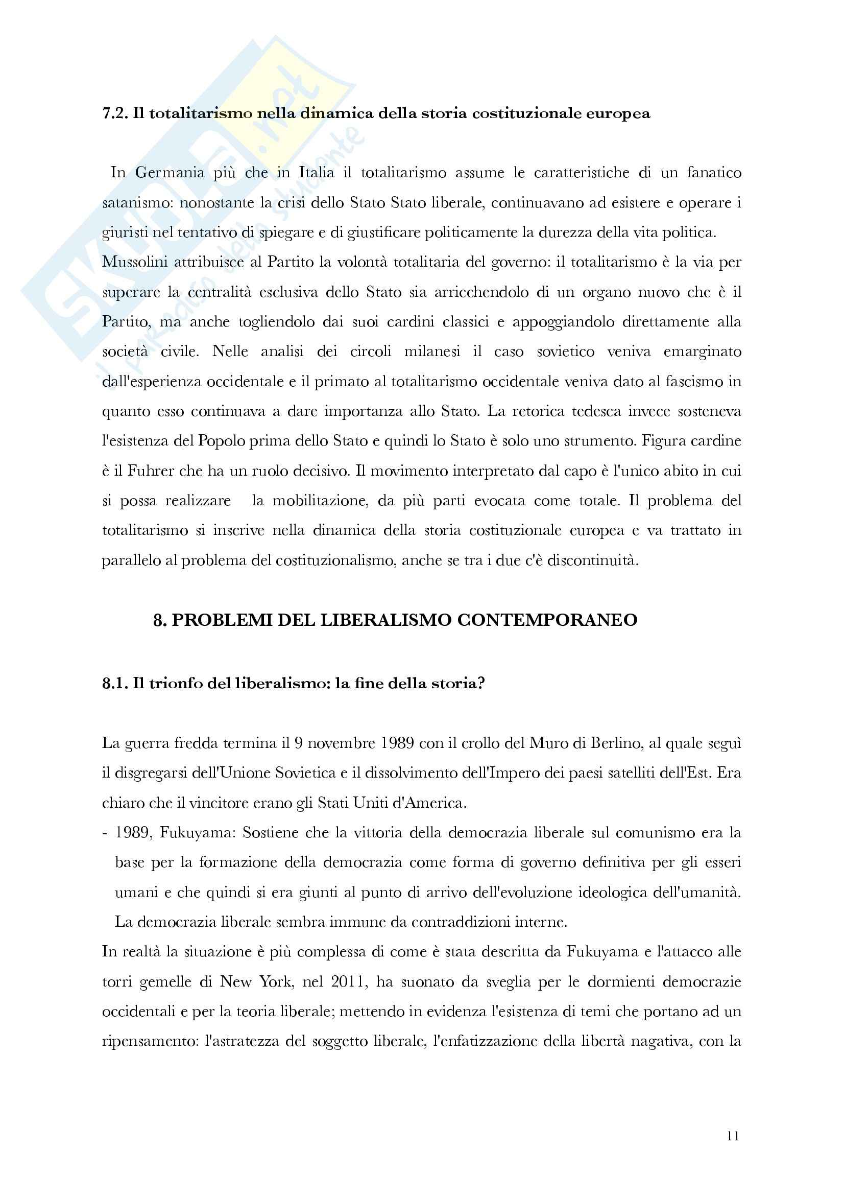 Riassunto esame Storia delle Dottrine Politiche, prof. Antonetti, libro consigliato La Politica e gli Stati, Gherardi Pag. 11