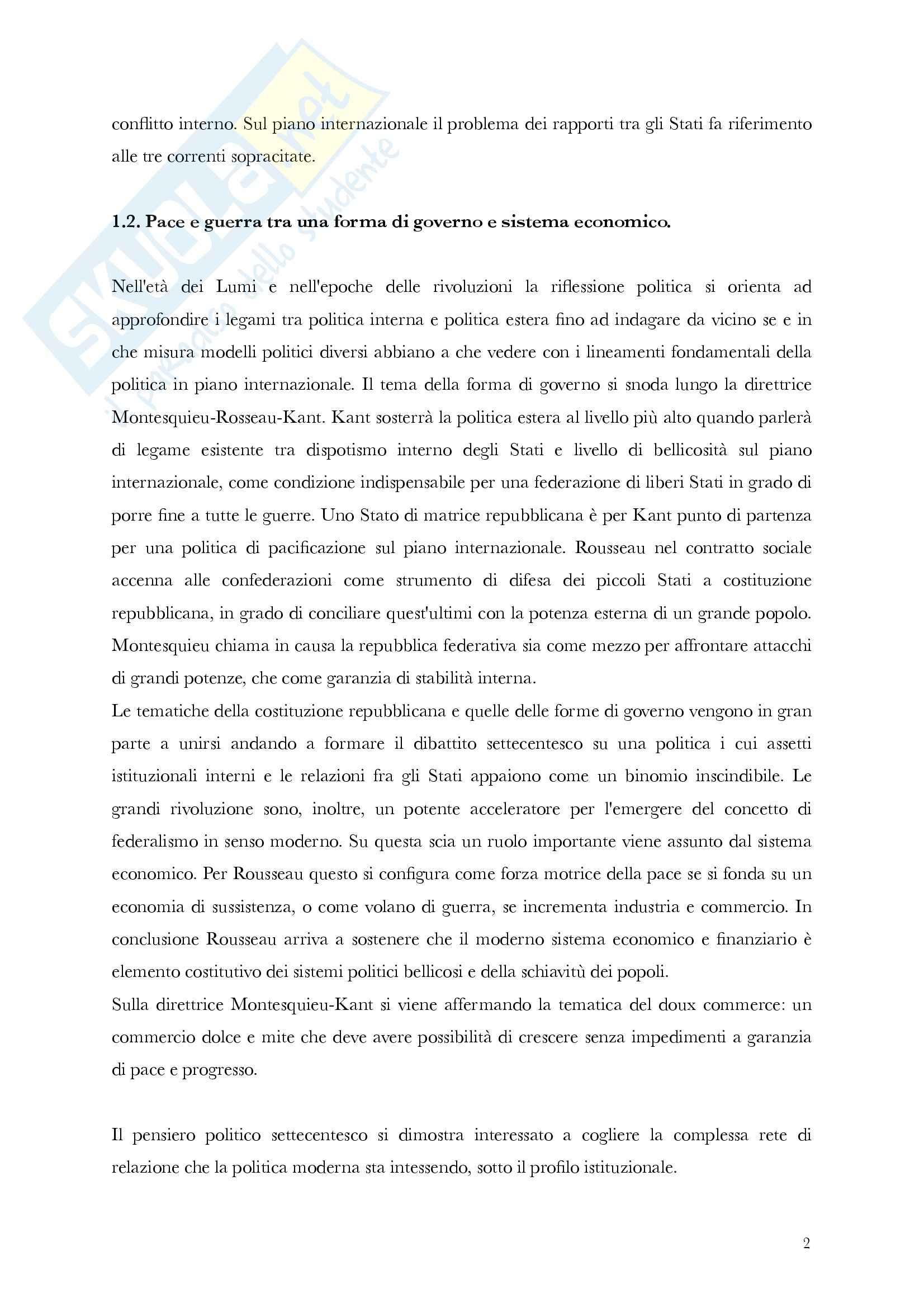 Riassunto esame Storia delle Dottrine Politiche, prof. Antonetti, libro consigliato La Politica e gli Stati, Gherardi Pag. 2