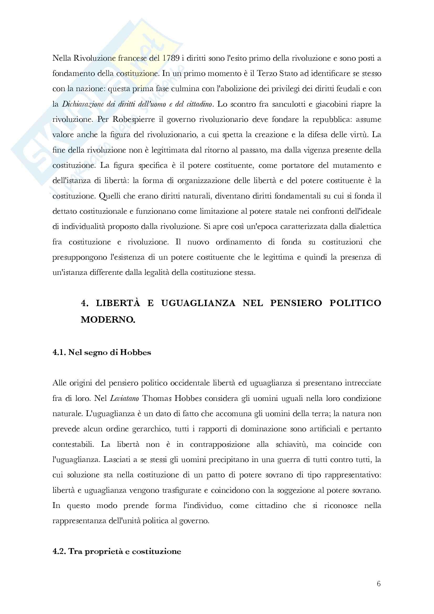 Riassunto esame Storia delle Dottrine Politiche, prof. Antonetti, libro consigliato La Politica e gli Stati, Gherardi Pag. 6