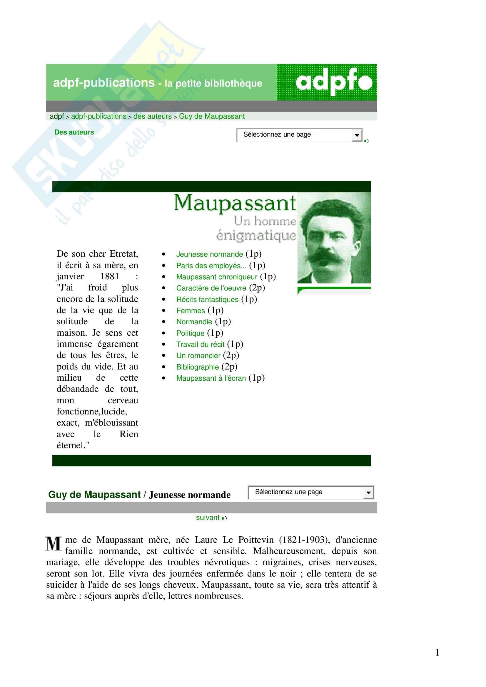 Maupassant