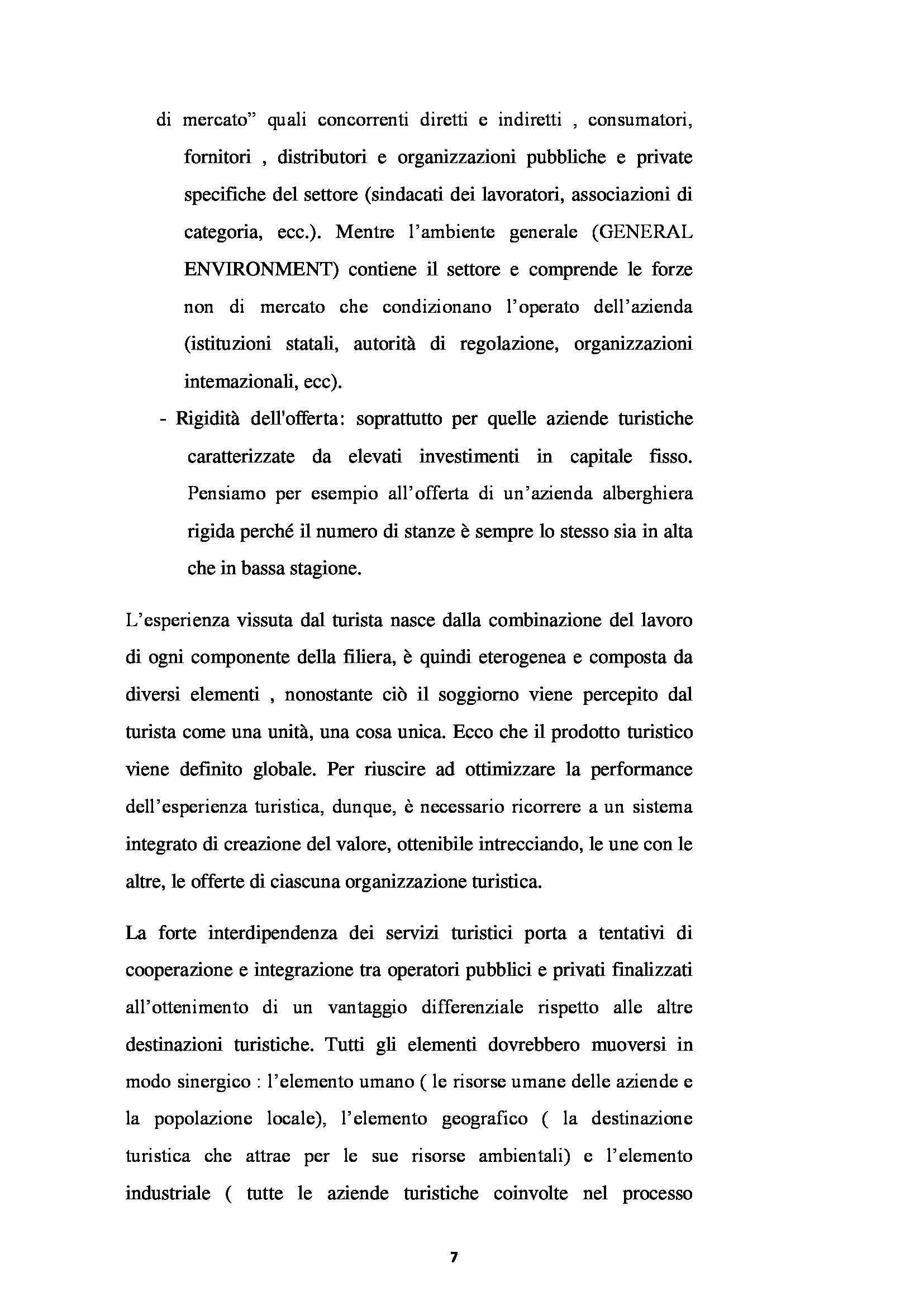 Tesi - L'Albergo Diffuso e Il Territorio. Il Caso Della Regione Abruzzo Pag. 6