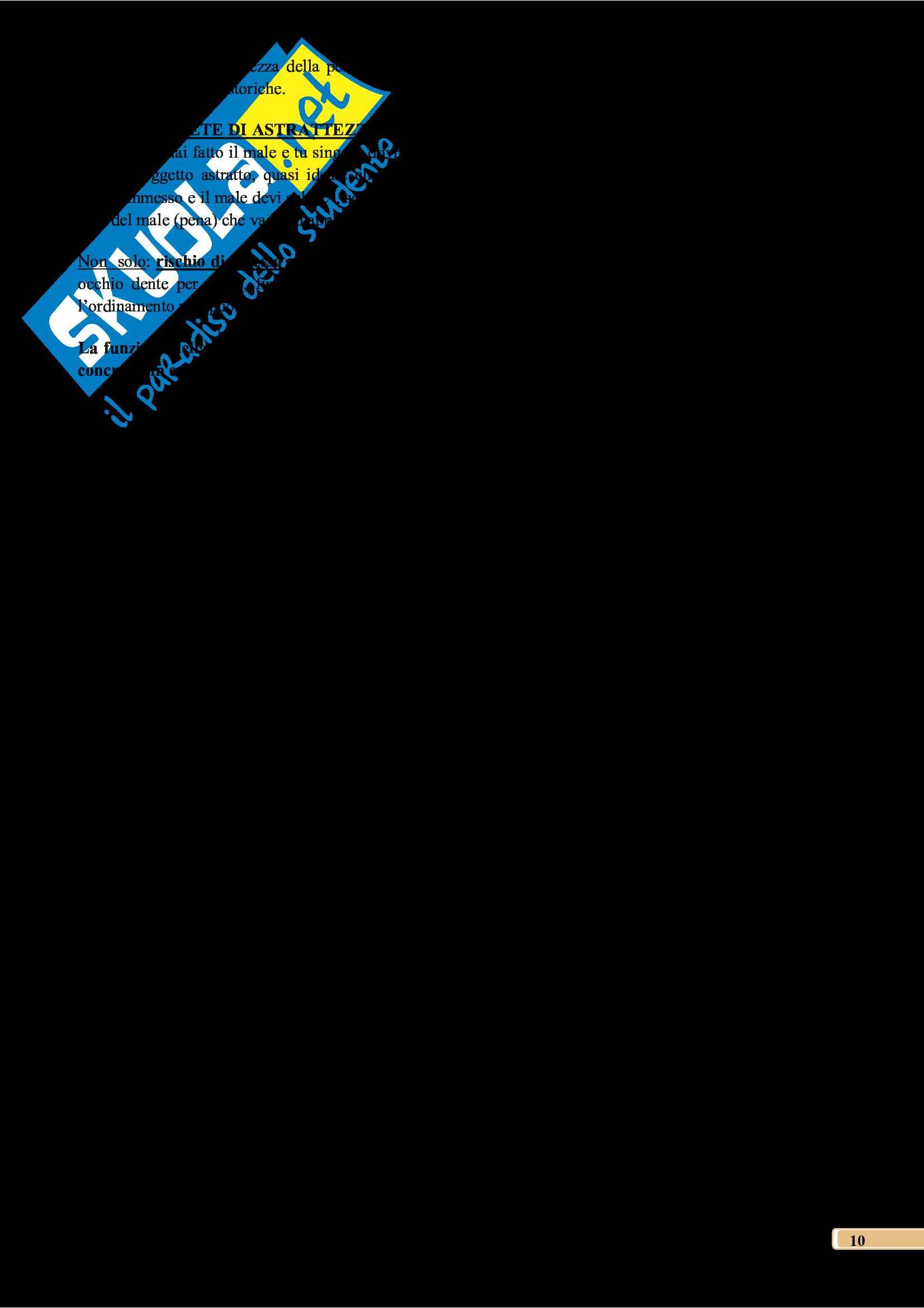 Riassunto esame di diritto penale, docente Bartoli, libro consigliato Corso di diritto penale, Parte Generale, Sesta edizione, Palazzo Pag. 11