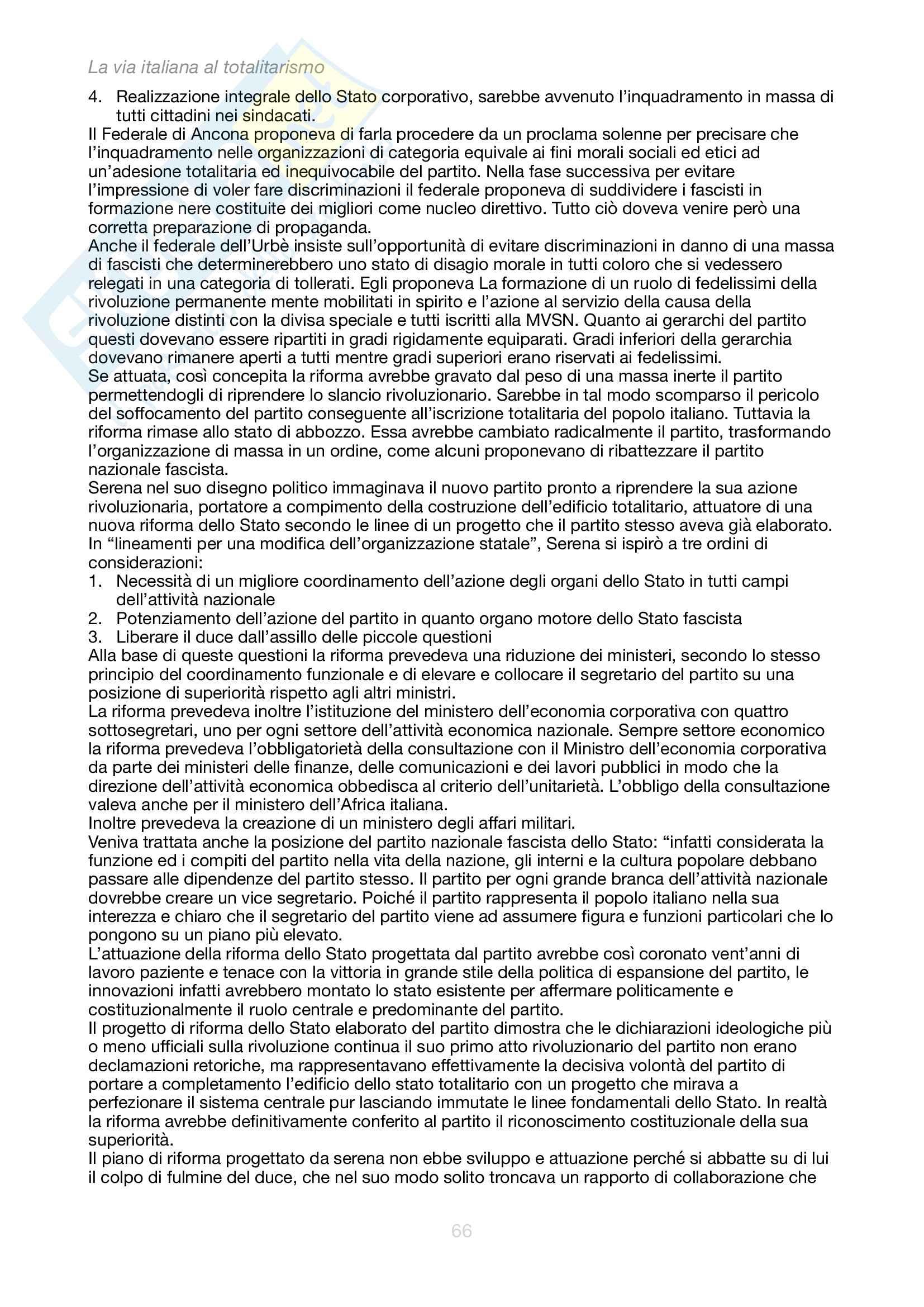 Appunti per l'esame orale di Storia Contemporanea con il prof Cammarano Pag. 66