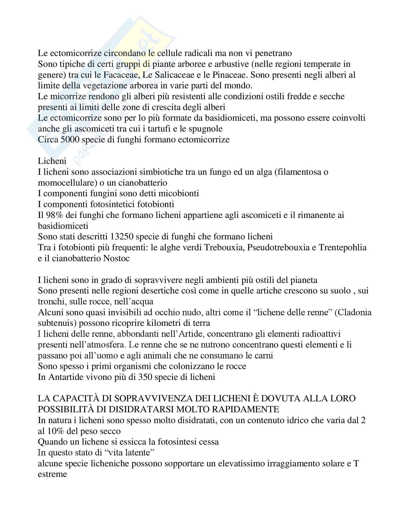 Biologia vegetale applicata - Appunti Pag. 21